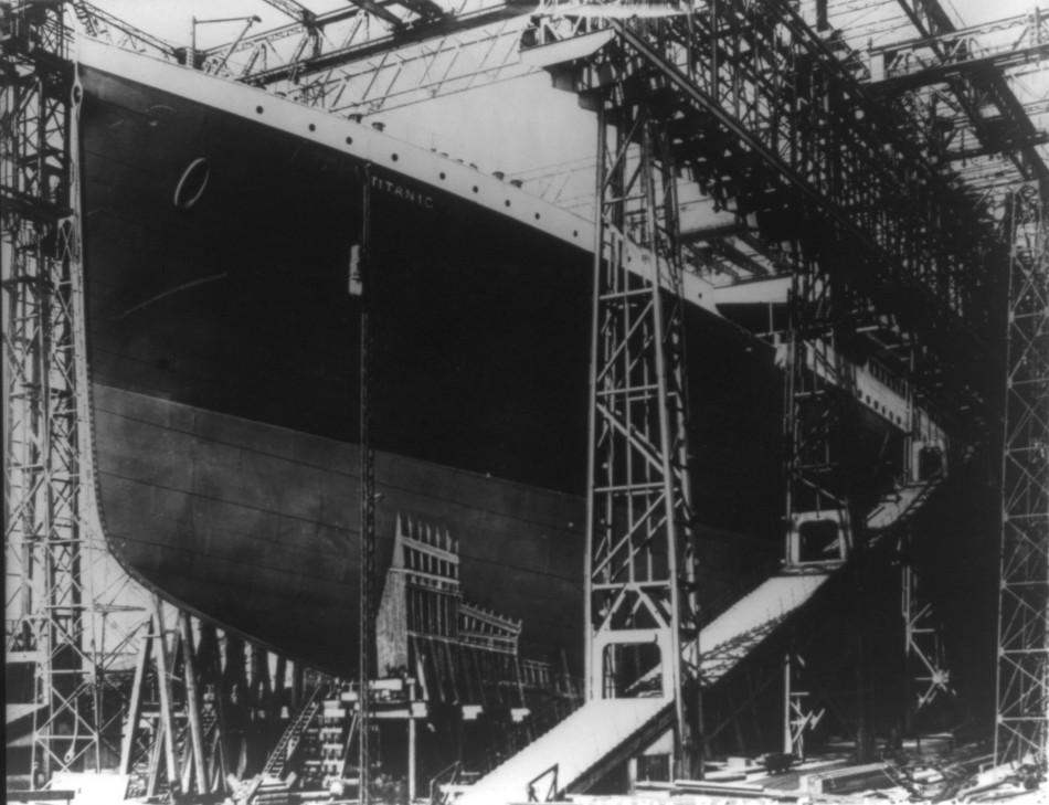 Rare Unseen Images of the Titanic