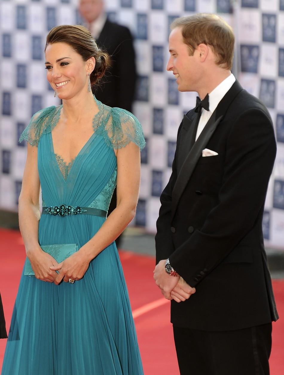 "Prince William and Kate Middleton at ""Our Greatest Team Rises Event"" in London"