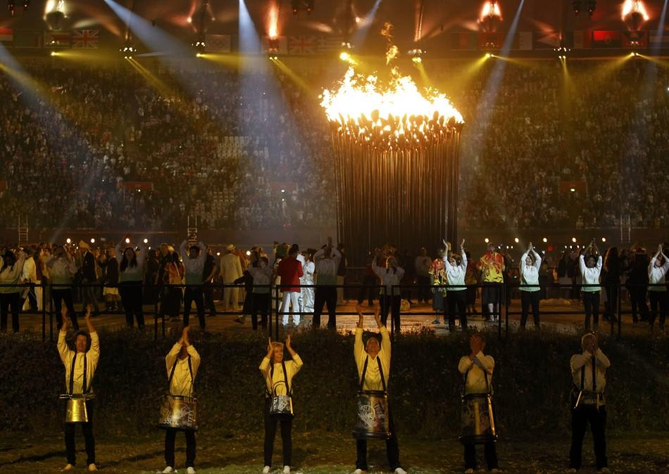 Who Lit London 2012 Olympic Cauldron; WHo Selected Them(Photos)