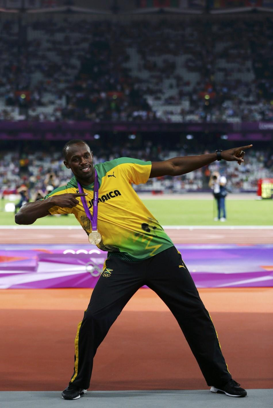 What Makes Usain A Bolt From The Blue (PHOTOS)