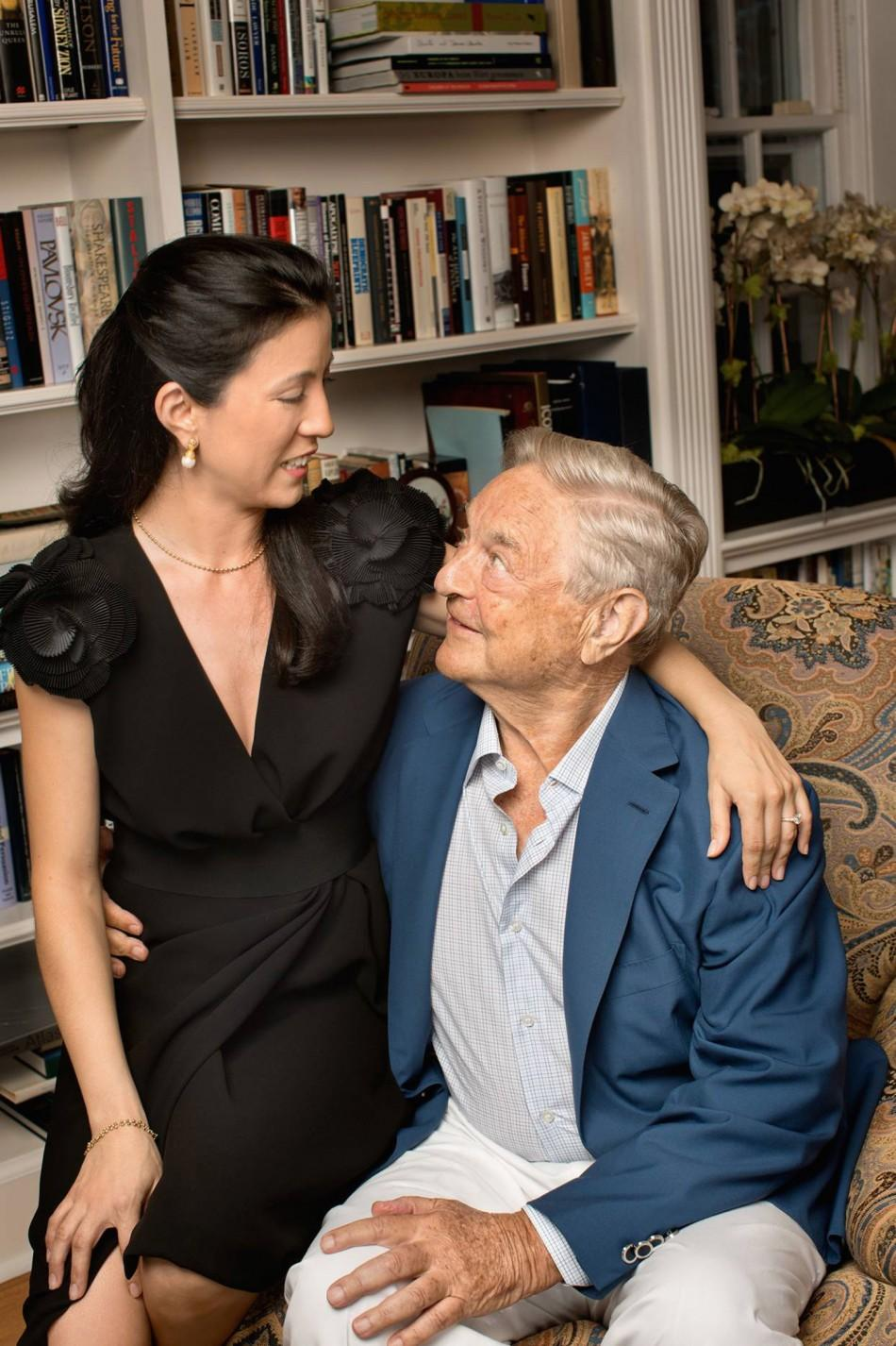 George Soros Third Marriage