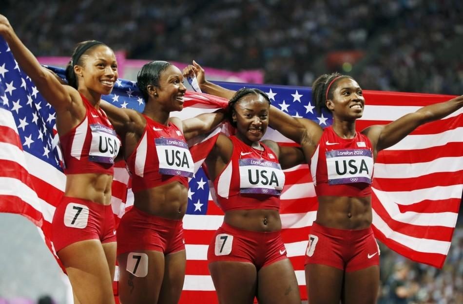 US Women 4x400m Relay