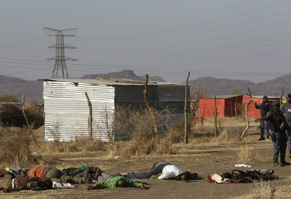 The images of the dead shocked South Africa.