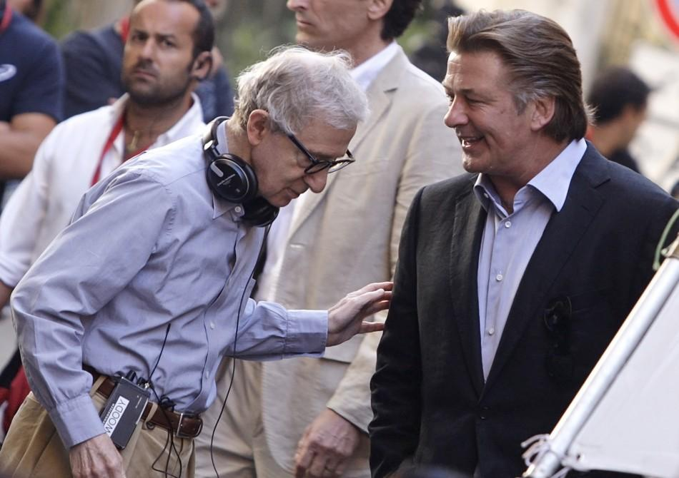 Woody Allen and Alec Baldwin