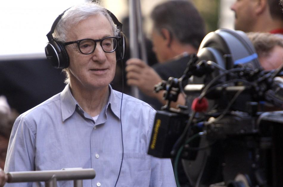 Woody Allen films in Rome