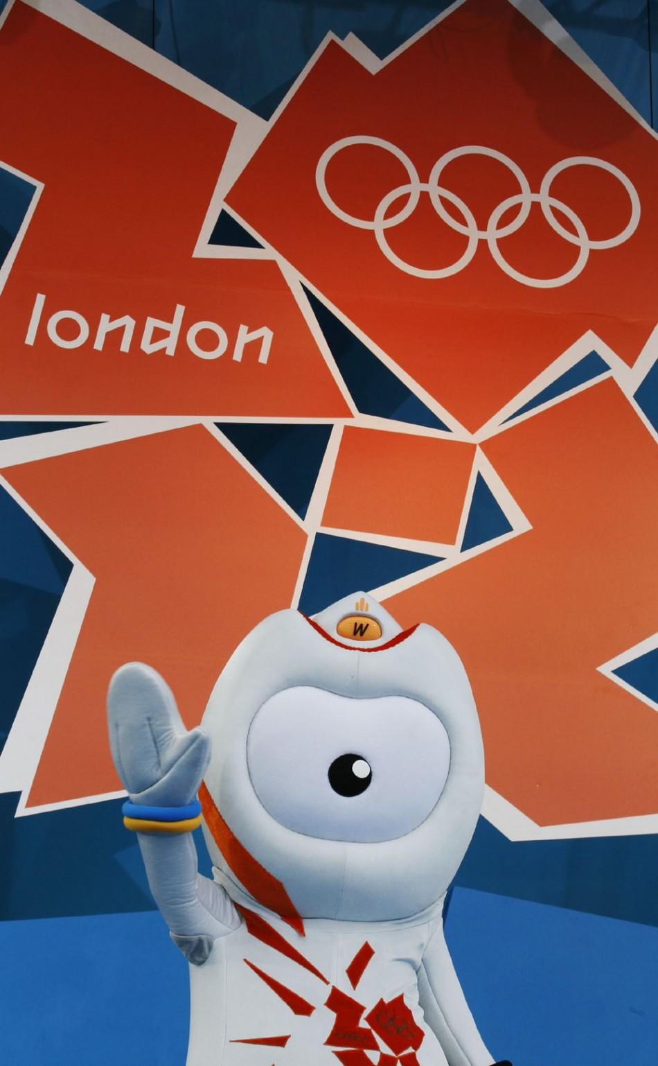 London 2012 Olympic Games Mascot Wenlock [PHOTO]