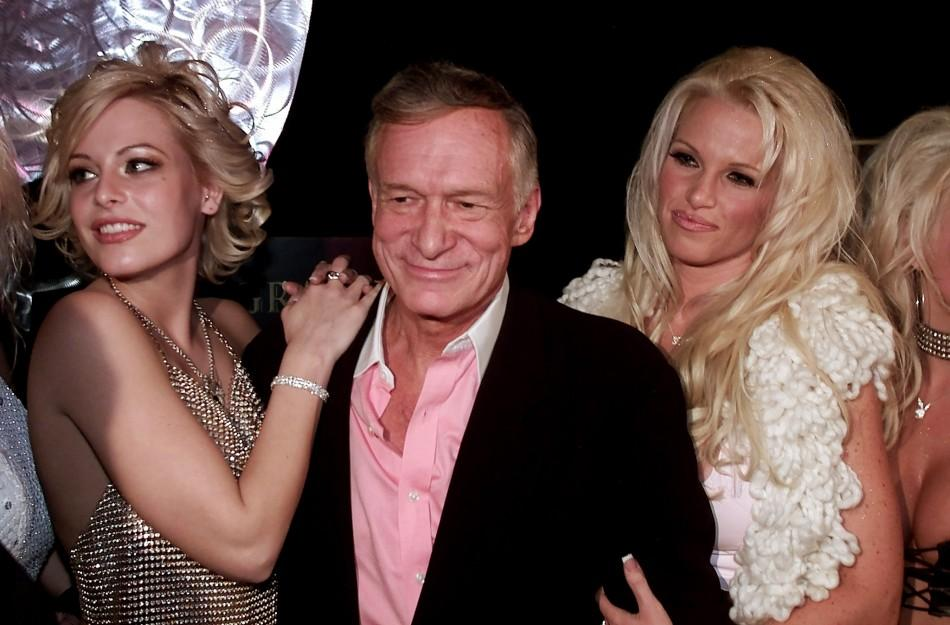 Hugh Hefner's Planking Playmates in Pictures