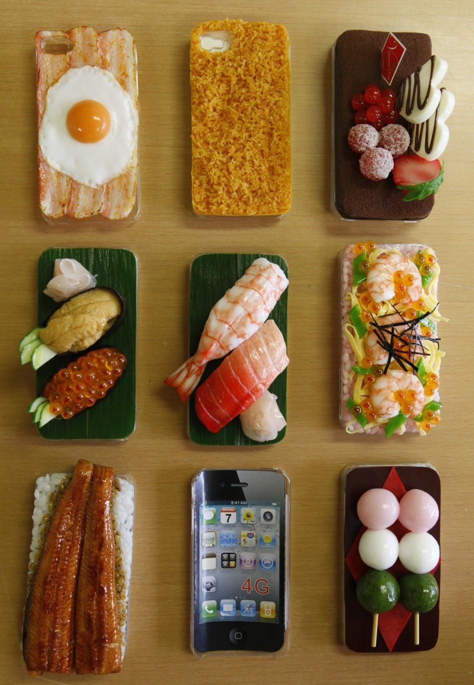 Don Your iPhone With Food Case