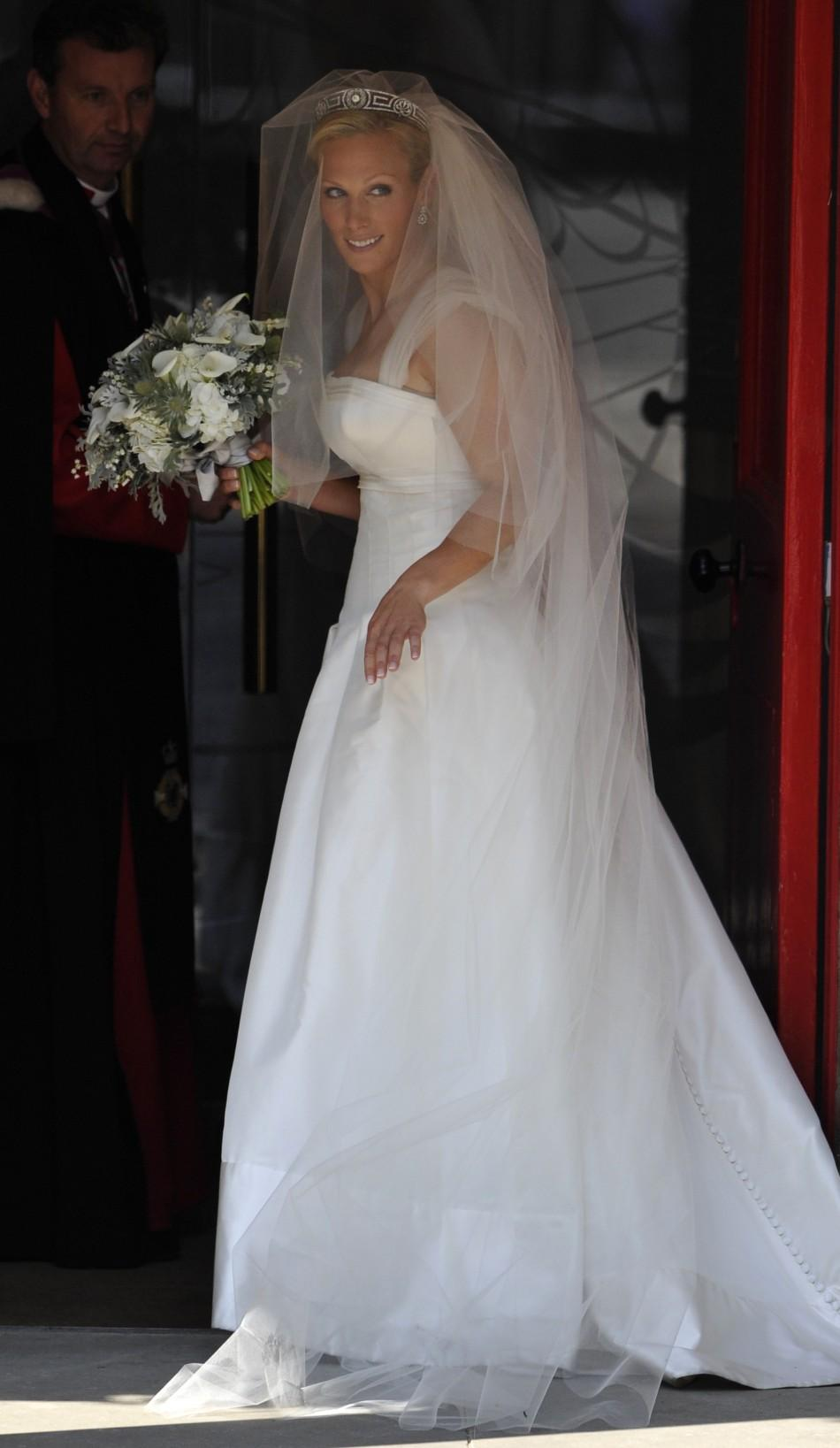 Britian's Second Royal Wedding Done, Zara Phillips and ...