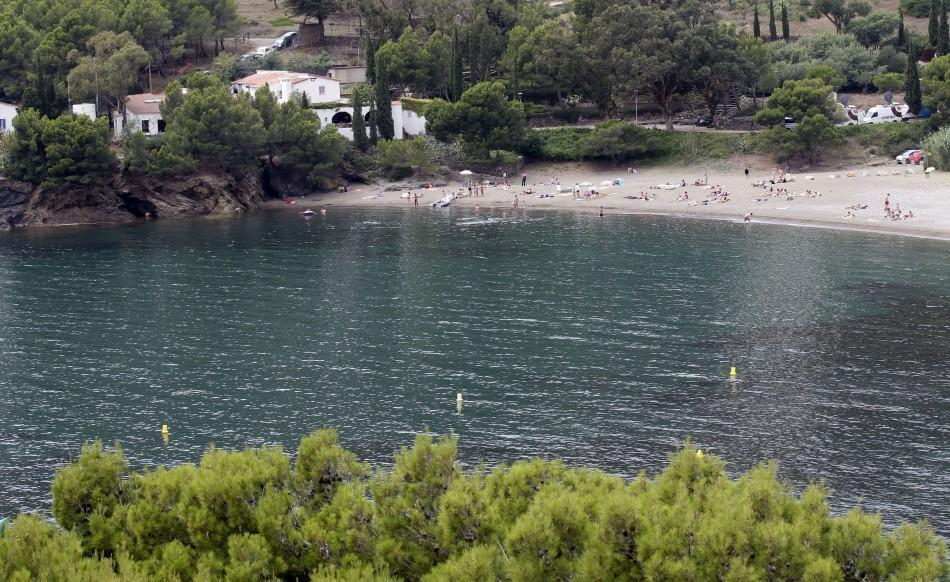 A general view of Cala Montjoi where El Bulli restaurant (L) is located at near Roses