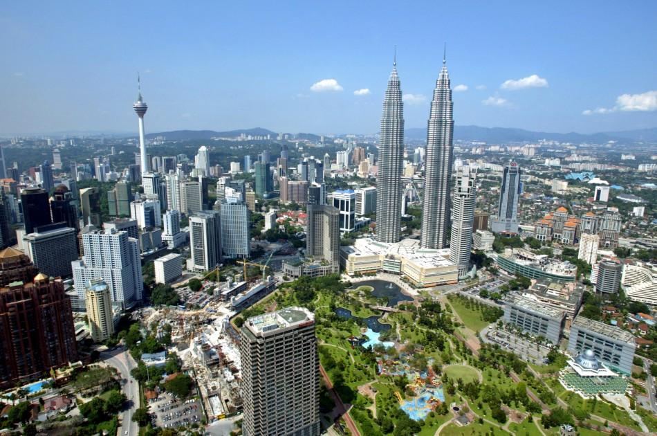 A Bird's Eye View of the World's Most Tall Buildings