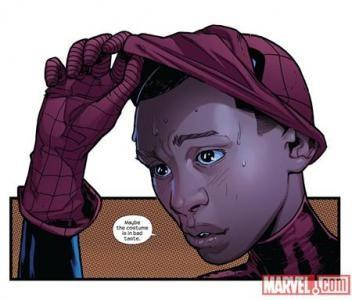 The new Spider-Man for the Obama-age -- a half-black, half-Latino ner