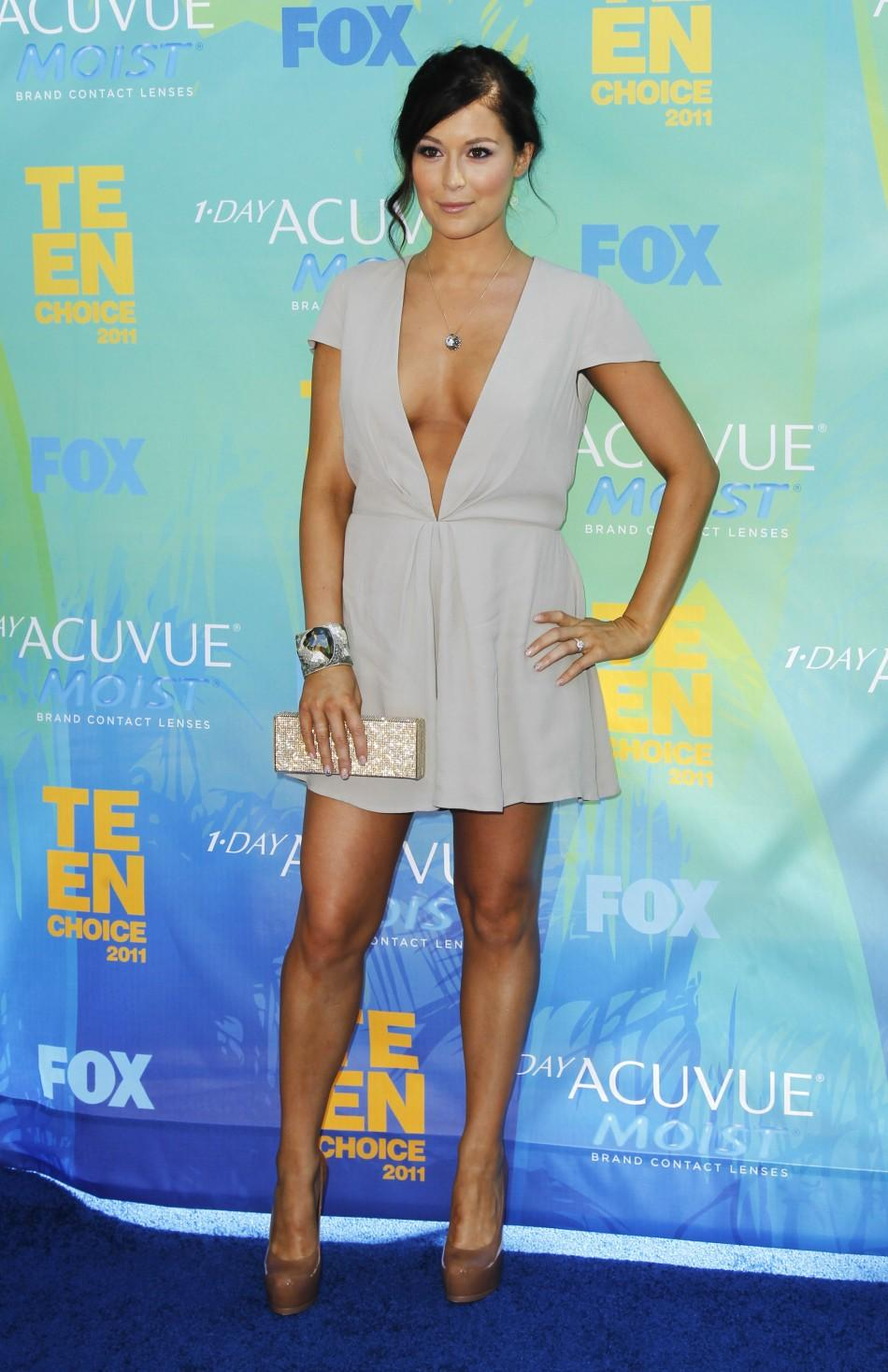 Actress Alexa Vega arrives at the Teen Choice Awards in Los Angeles