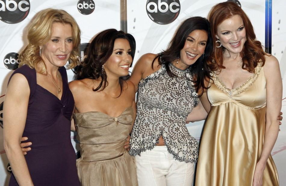 "Stars of the ABC show ""Desperate Housewives"" arrive to attend the ABC Network upfronts in New York"