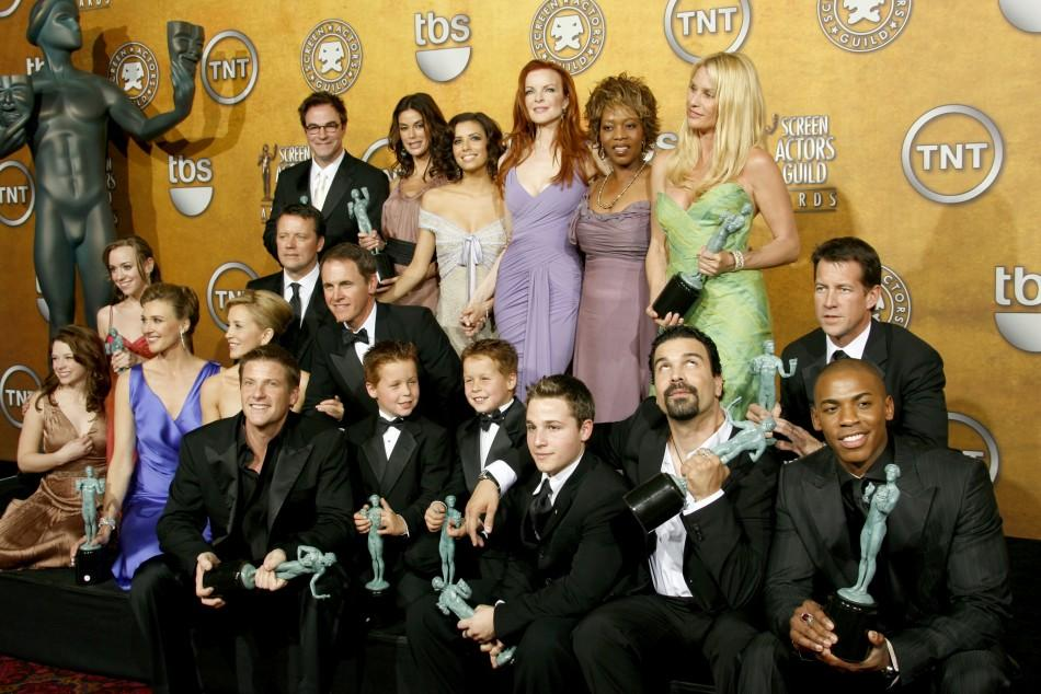 Cast of 'Desperate Housewives' wins at the 12th annual Screen Actors Guild Awards in Los Angeles