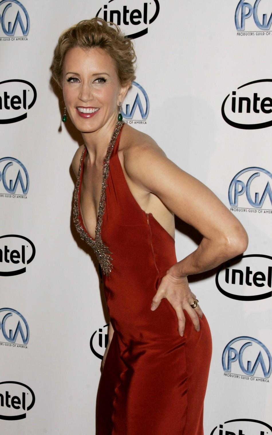 Actress Huffman arrives at the 2006 Producers Guild Awards in Los Angeles