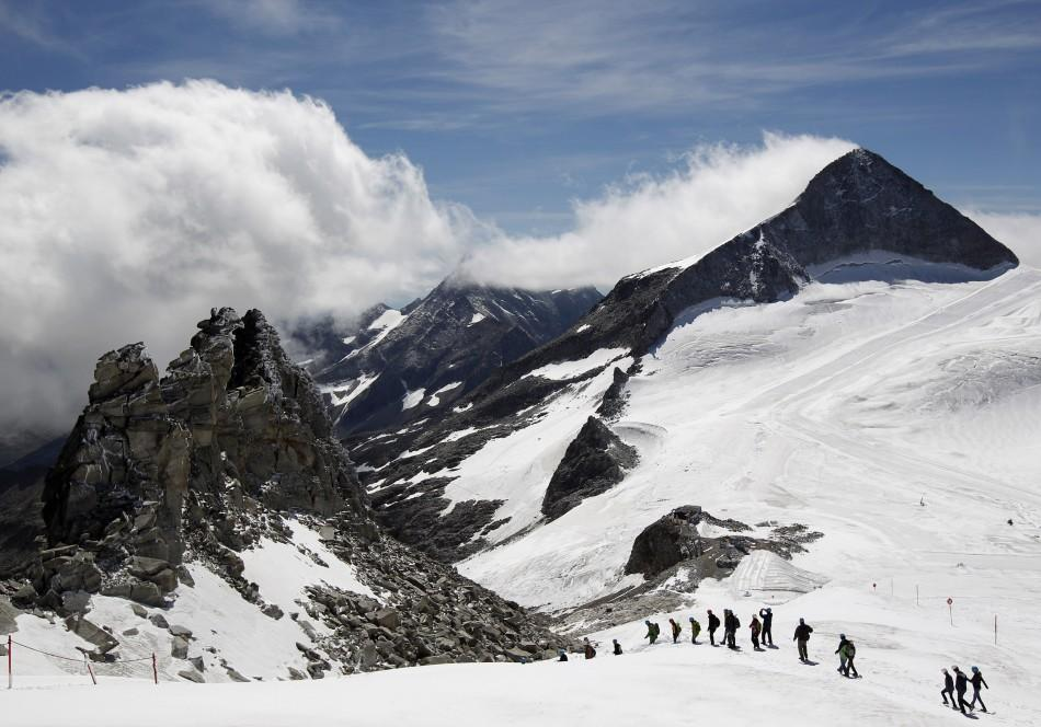 'Natural Ice Palace' Discovered Deep Inside Austrian Glacier Opened to Visitors