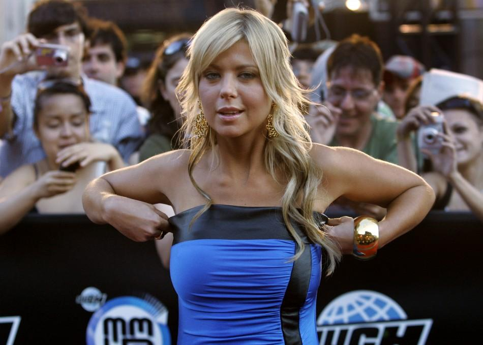 Actress Tara Reid arrives for the Much Music Video Awards in Toronto