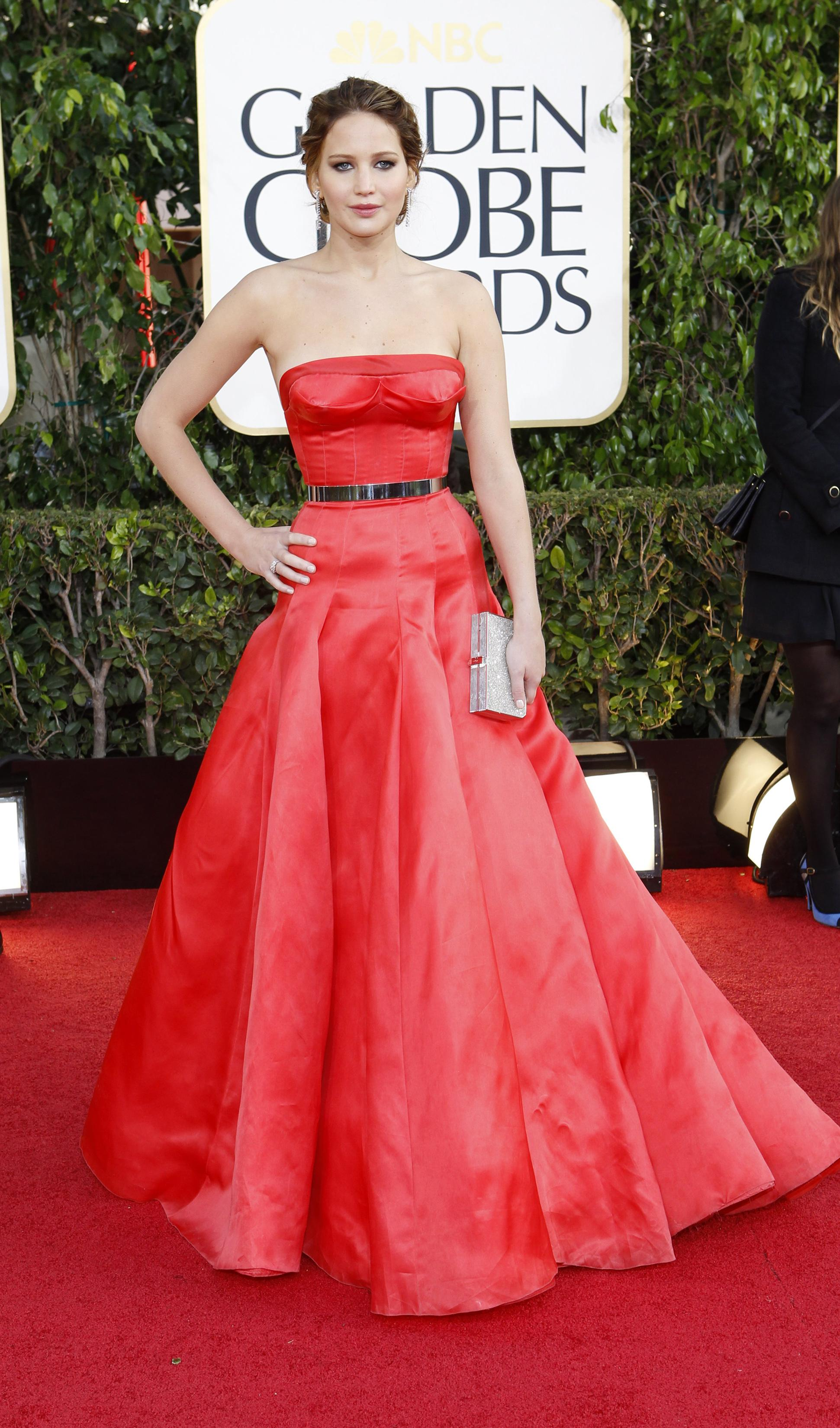 cfe03be7 Golden Globes 2013: Best And Worst Dressed Celebrities On The Red ...