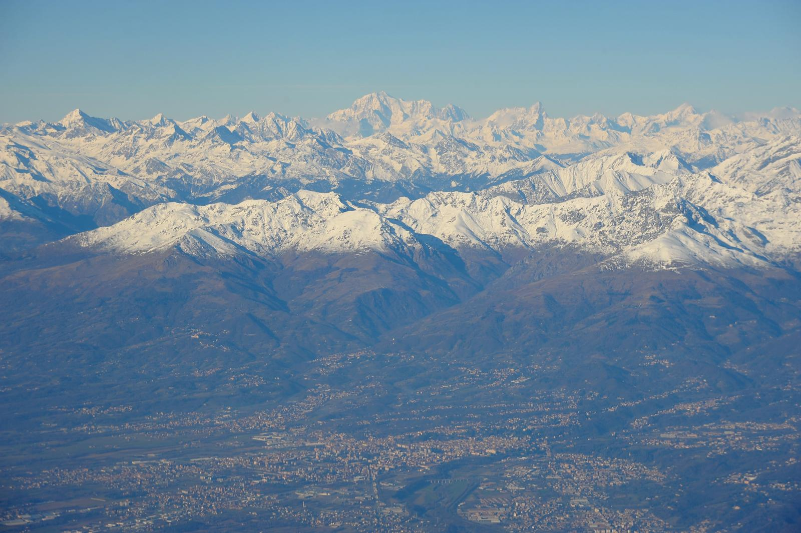Biella and Mt Blanc