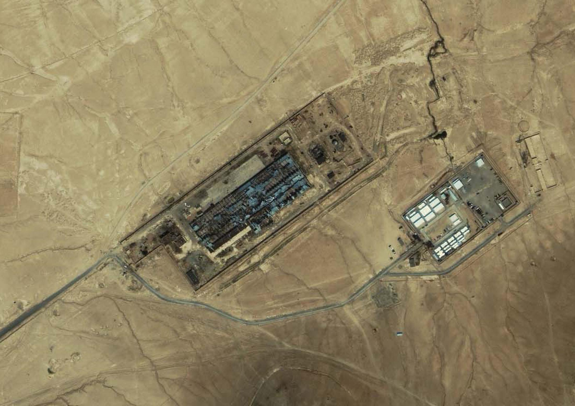 Satellite Black Site Image