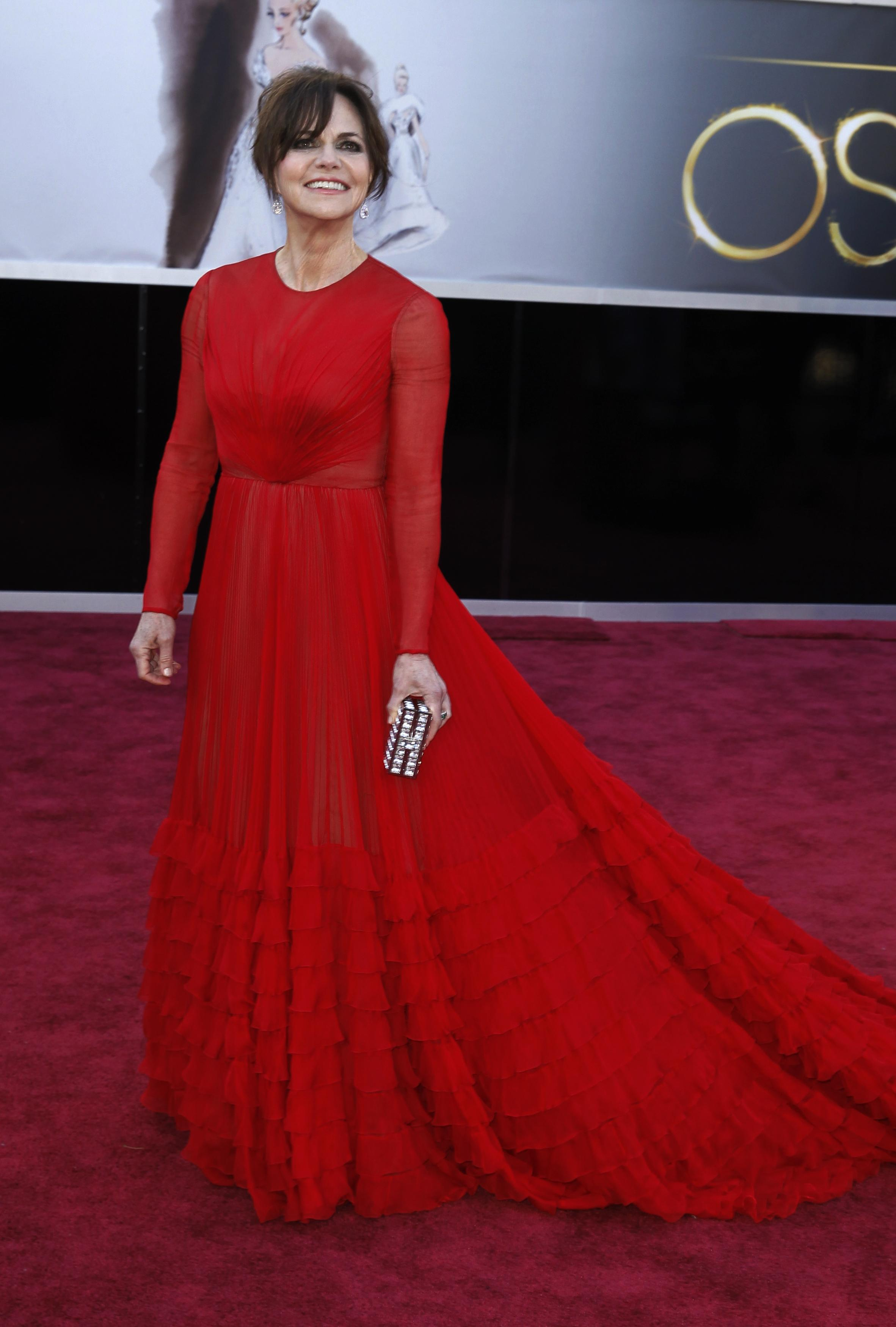Sally Field in Valentino
