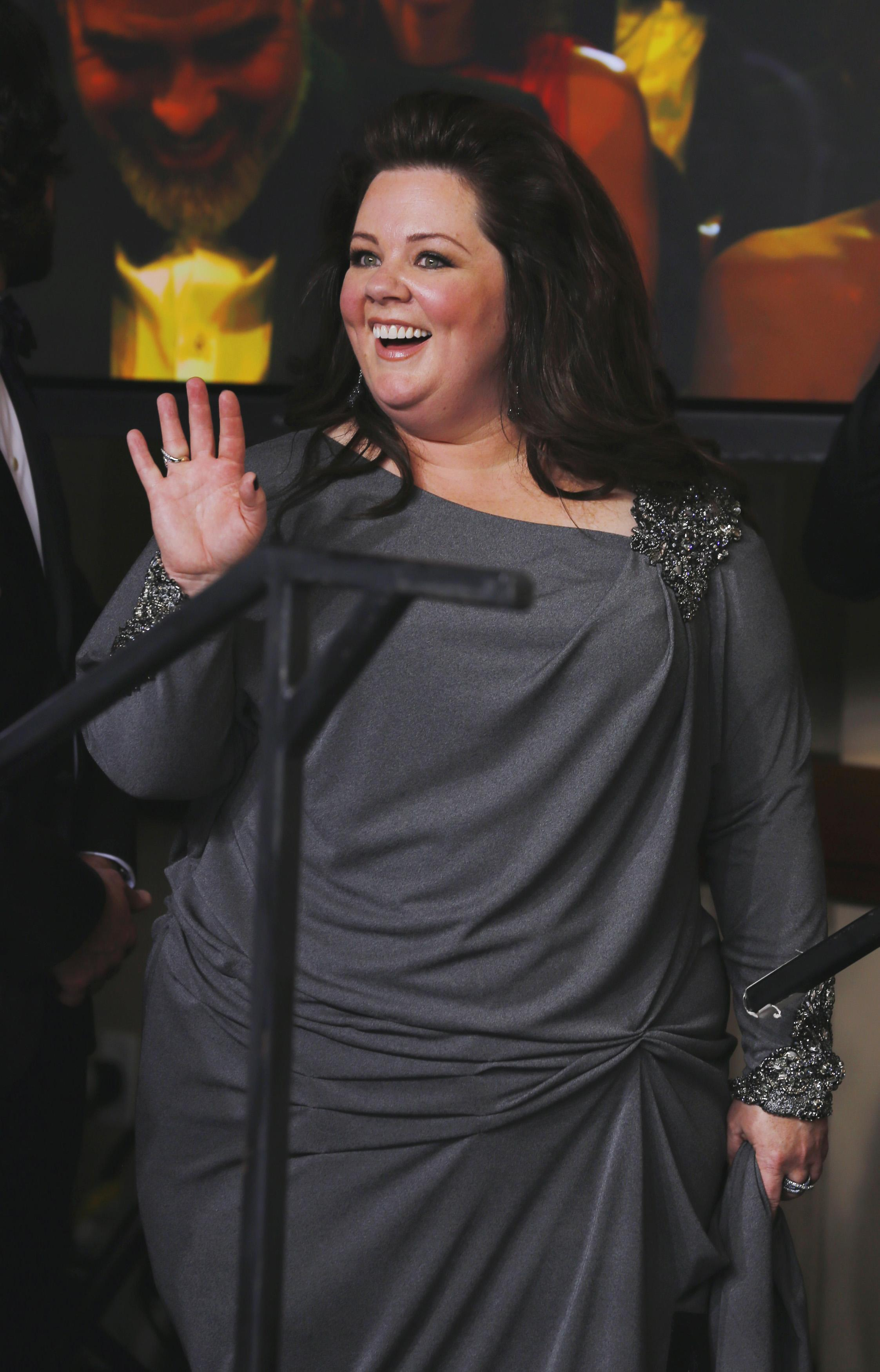 Melissa McCarthy in David Mesiter