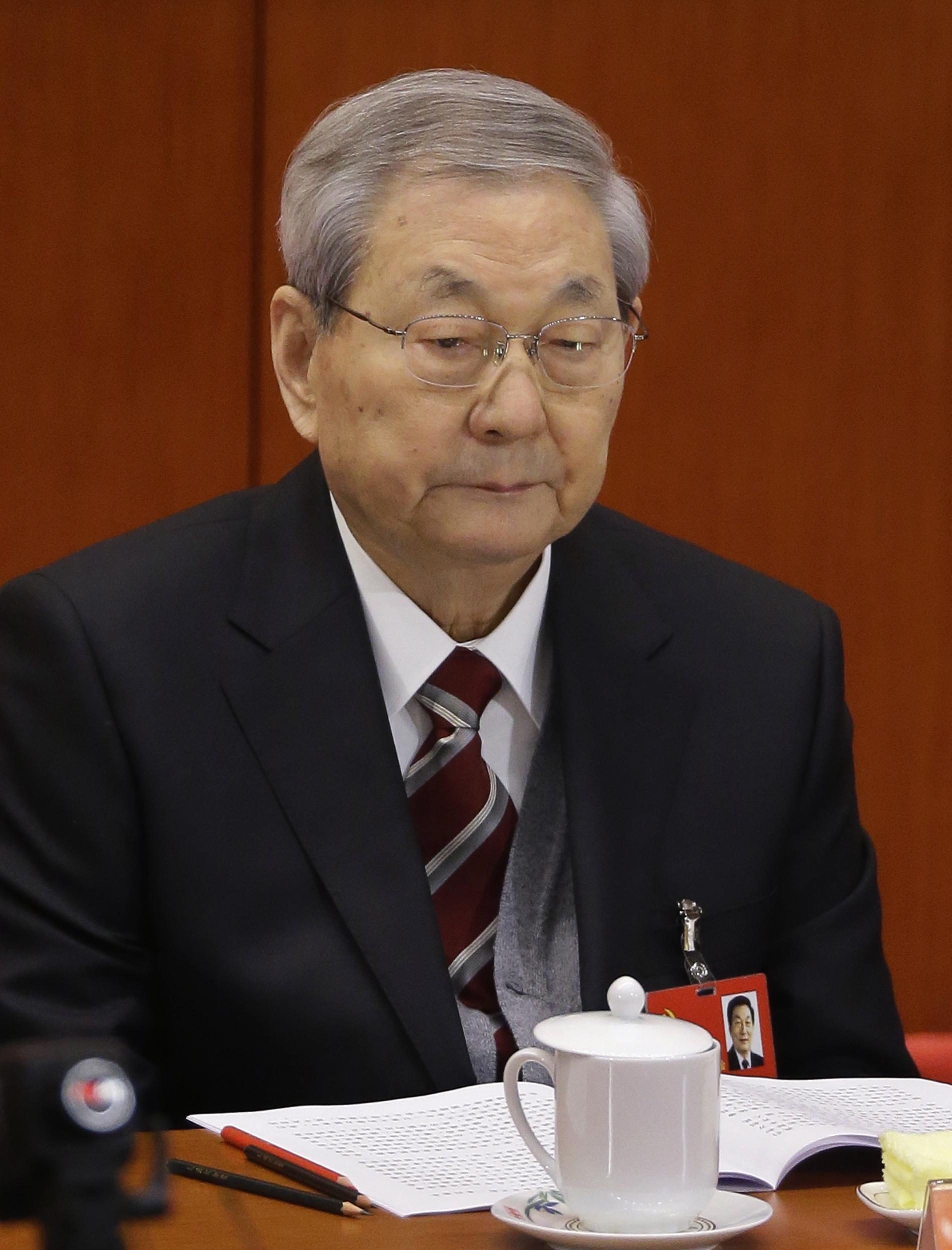 A Graying Zhu Rongji