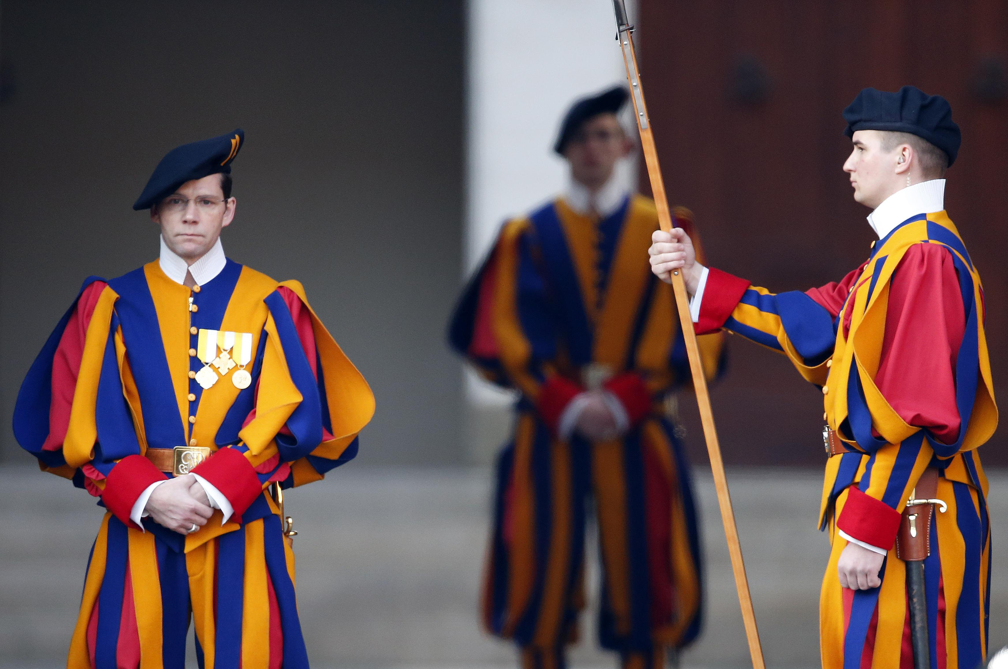 Image result for vatican guard uniforms