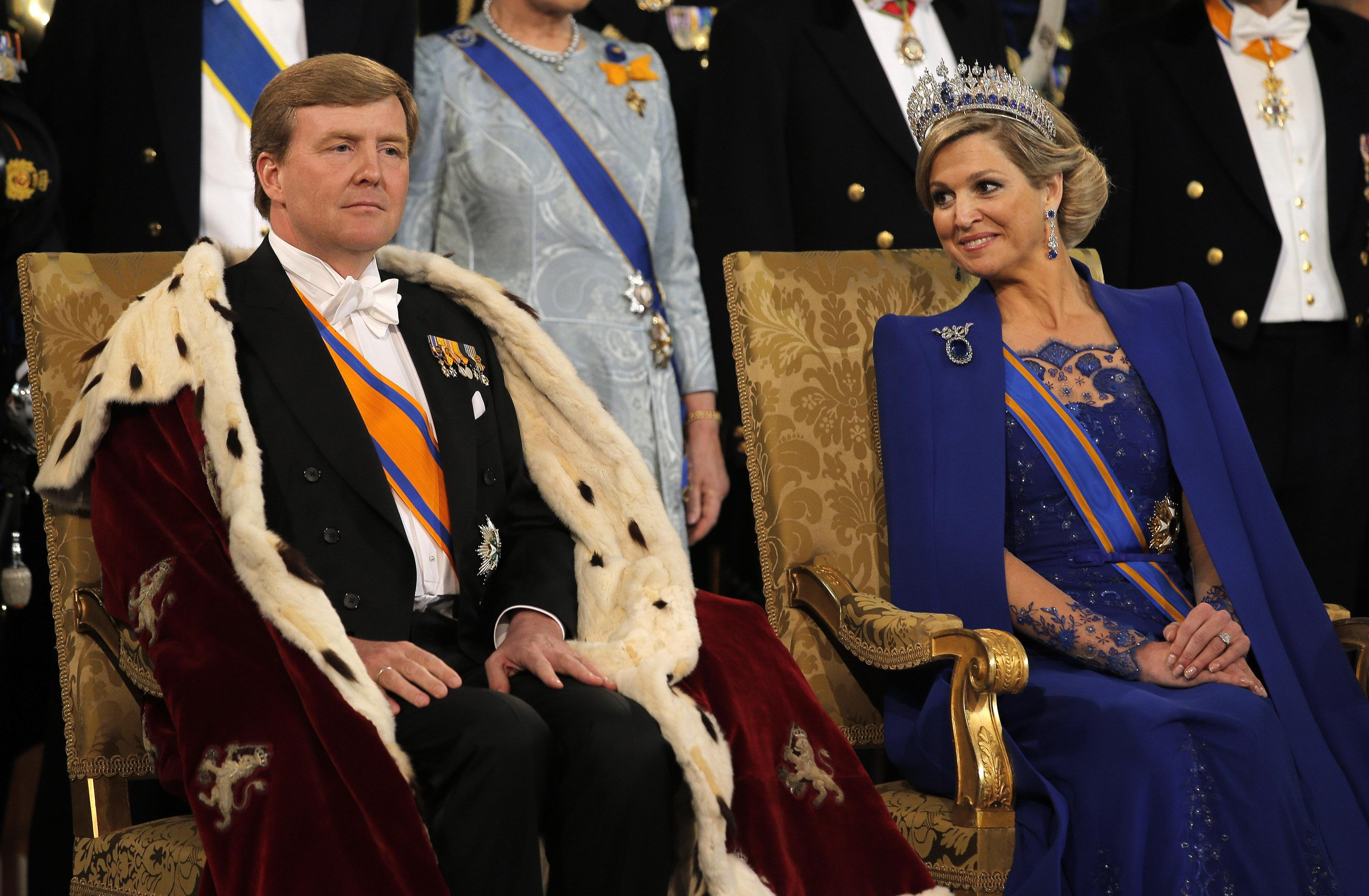 King Willem and Queen Maxima