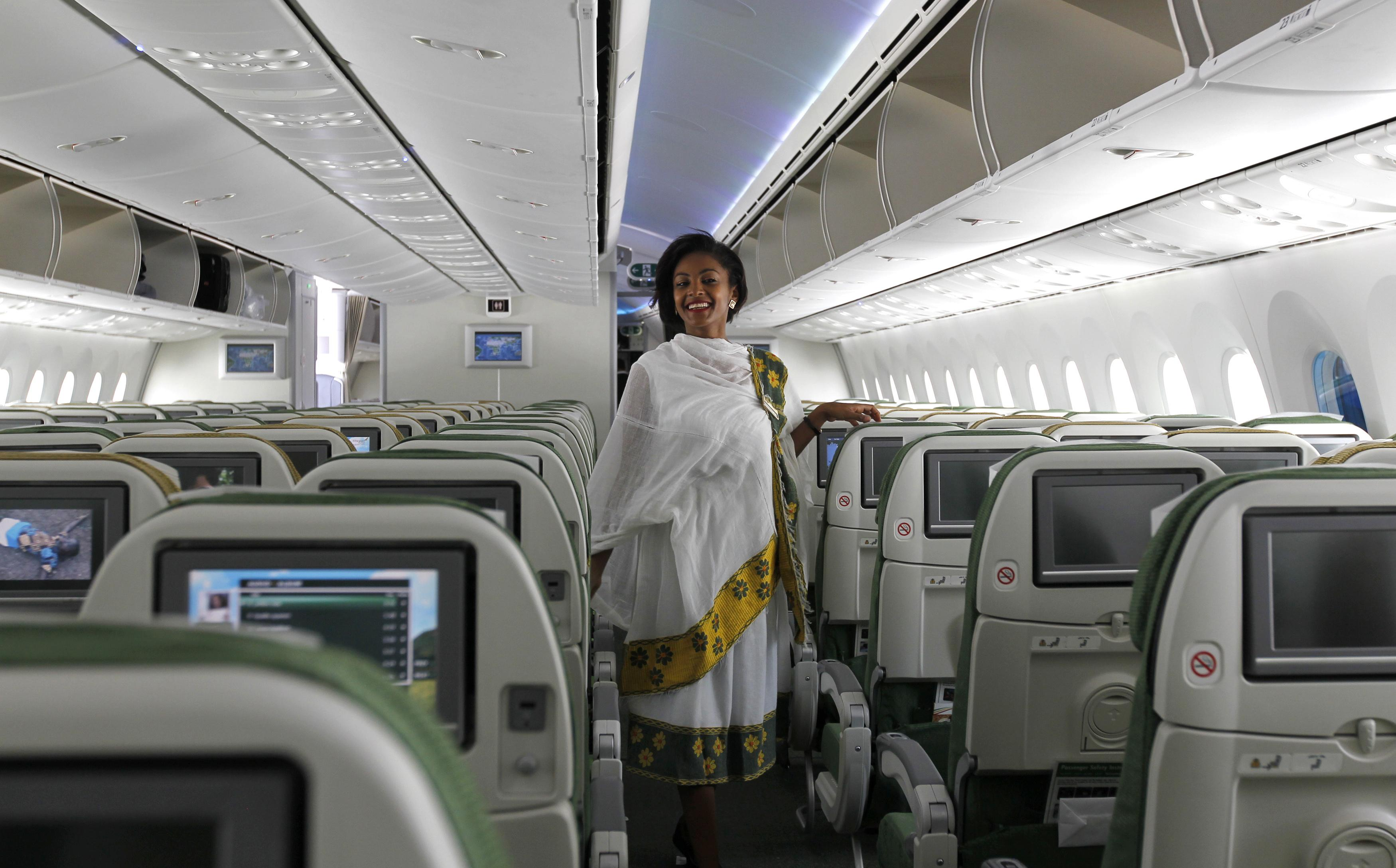 Ethiopian Airlines Flight Attendant