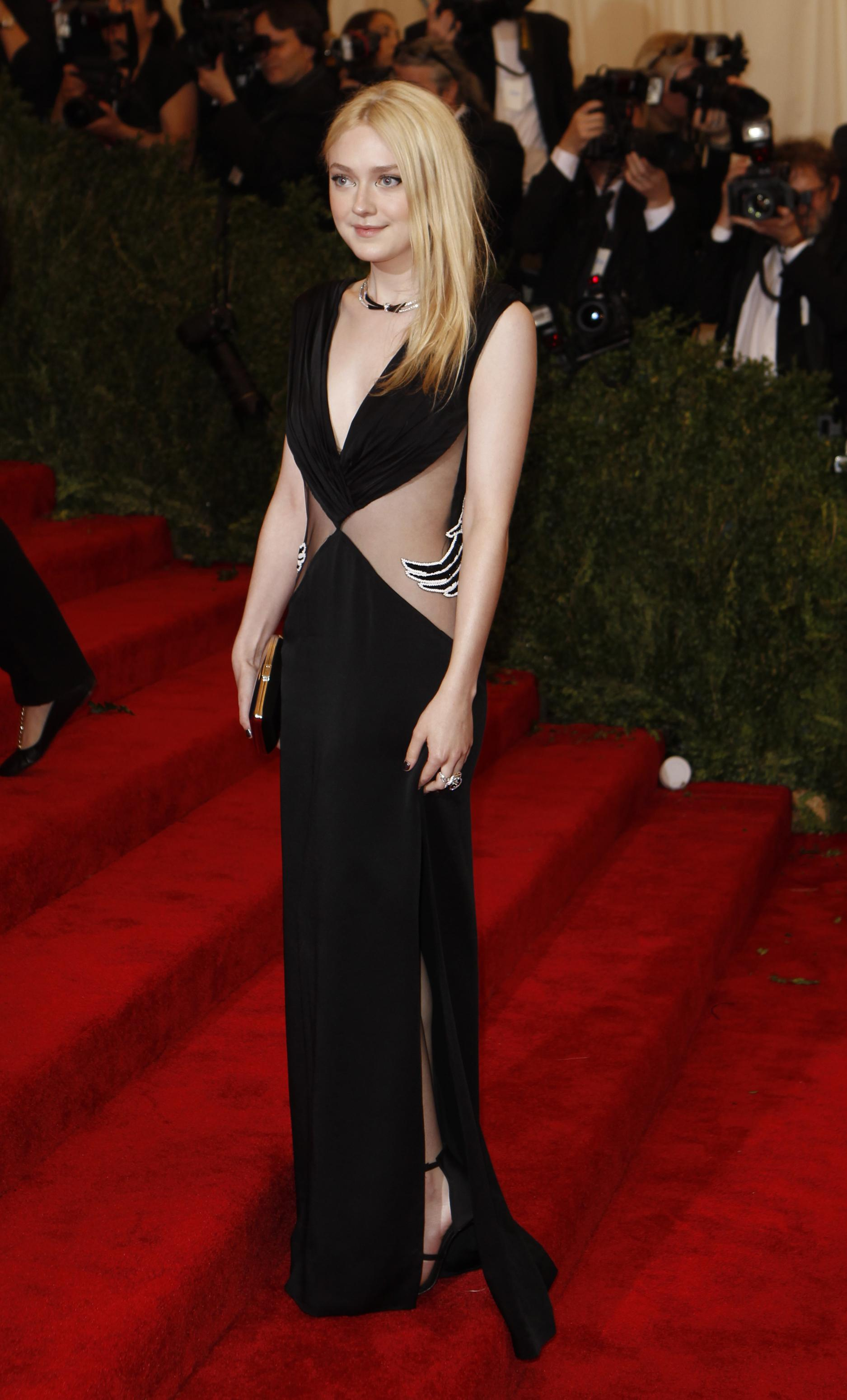 Dakota Fanning at the 2013 Met Gala