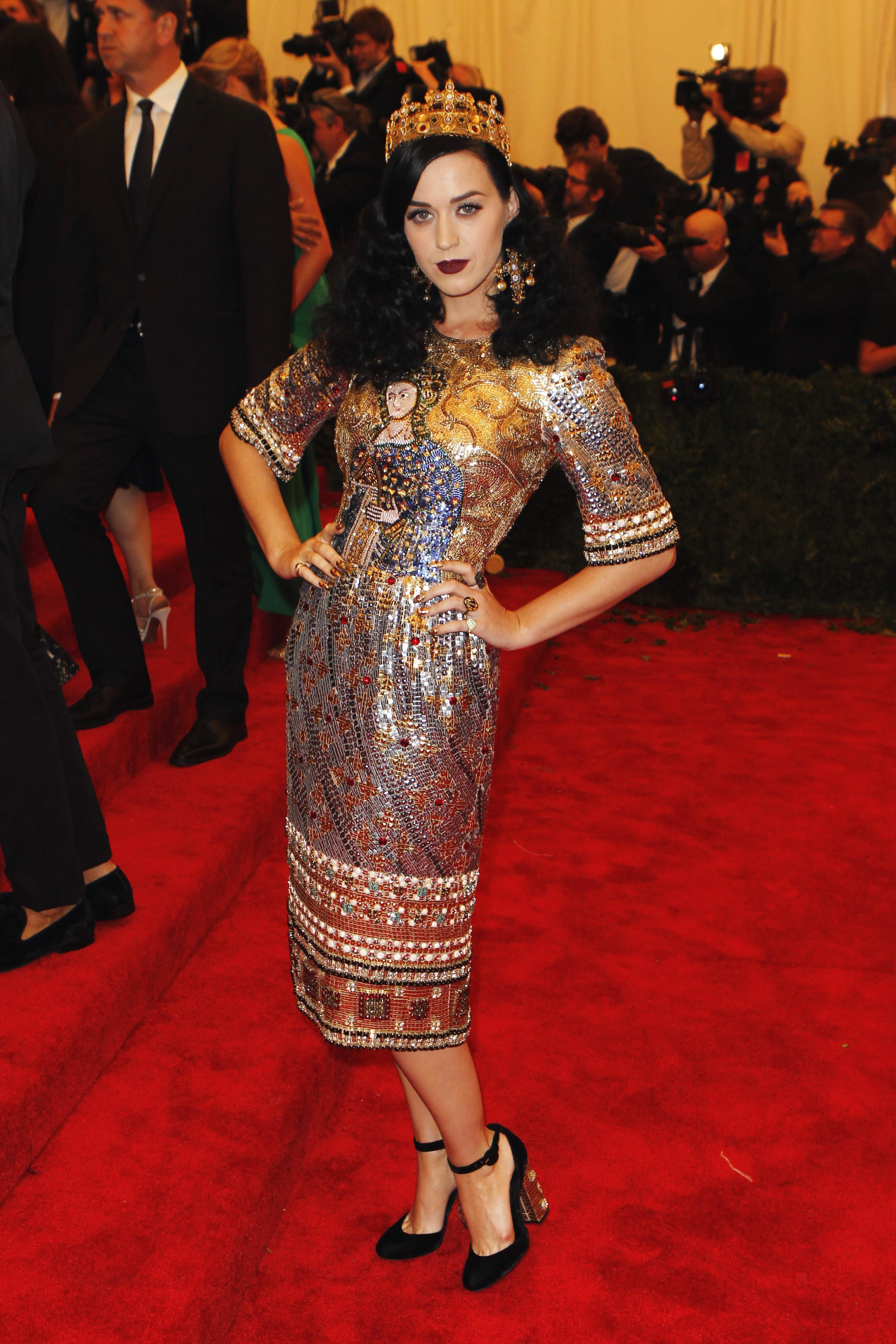 Katy Perry at the 2013 Met Gala