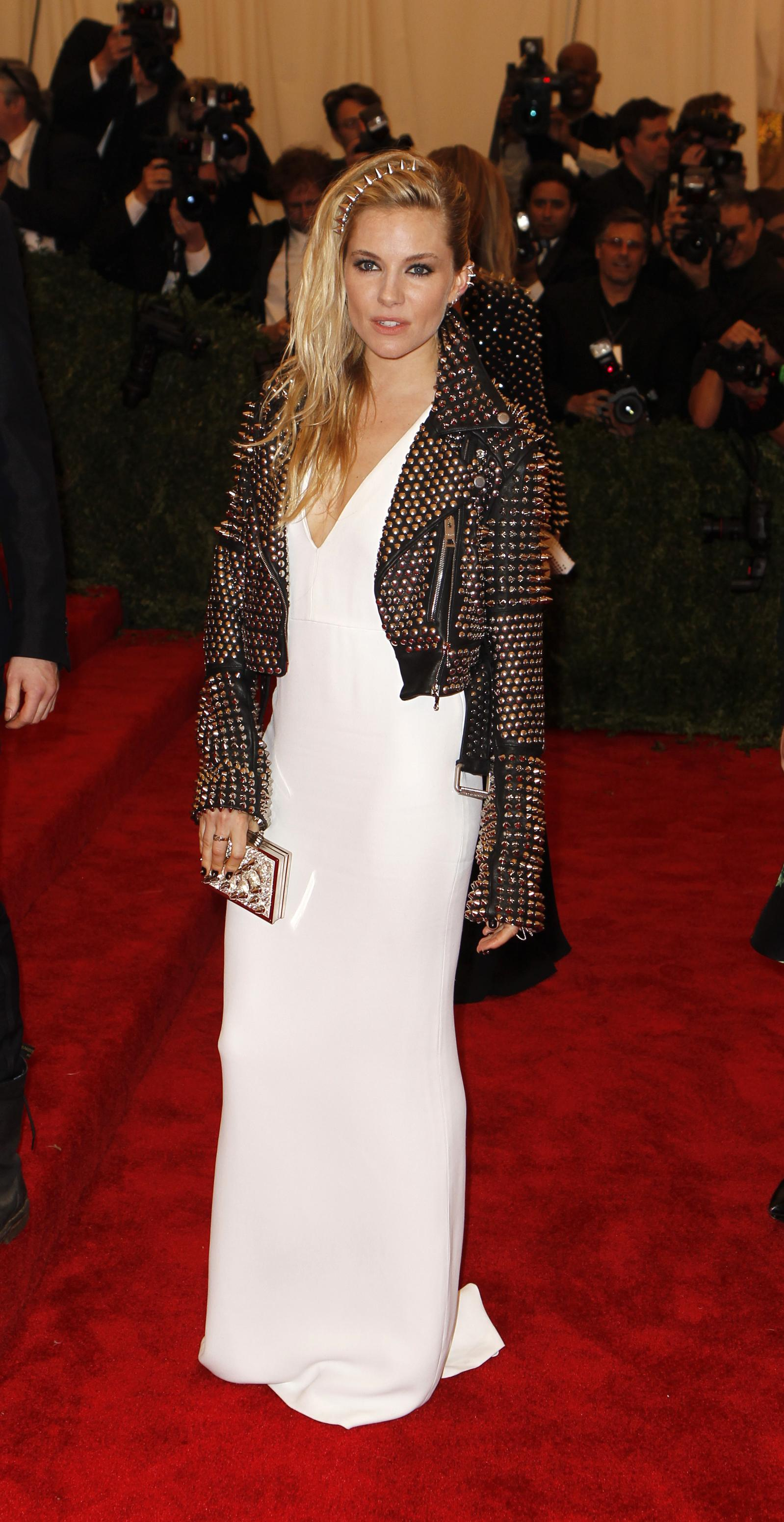 Sienna Miller at the 2013 Met Gala