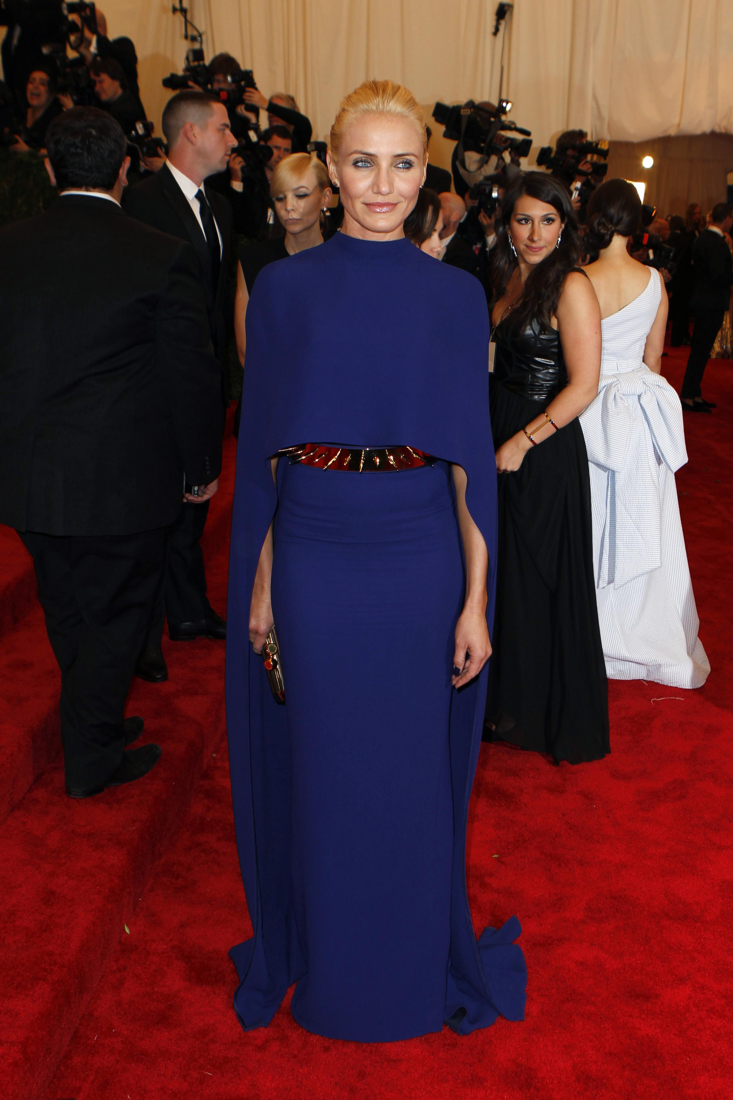 Cameron Diaz at the 2013 Met Gala