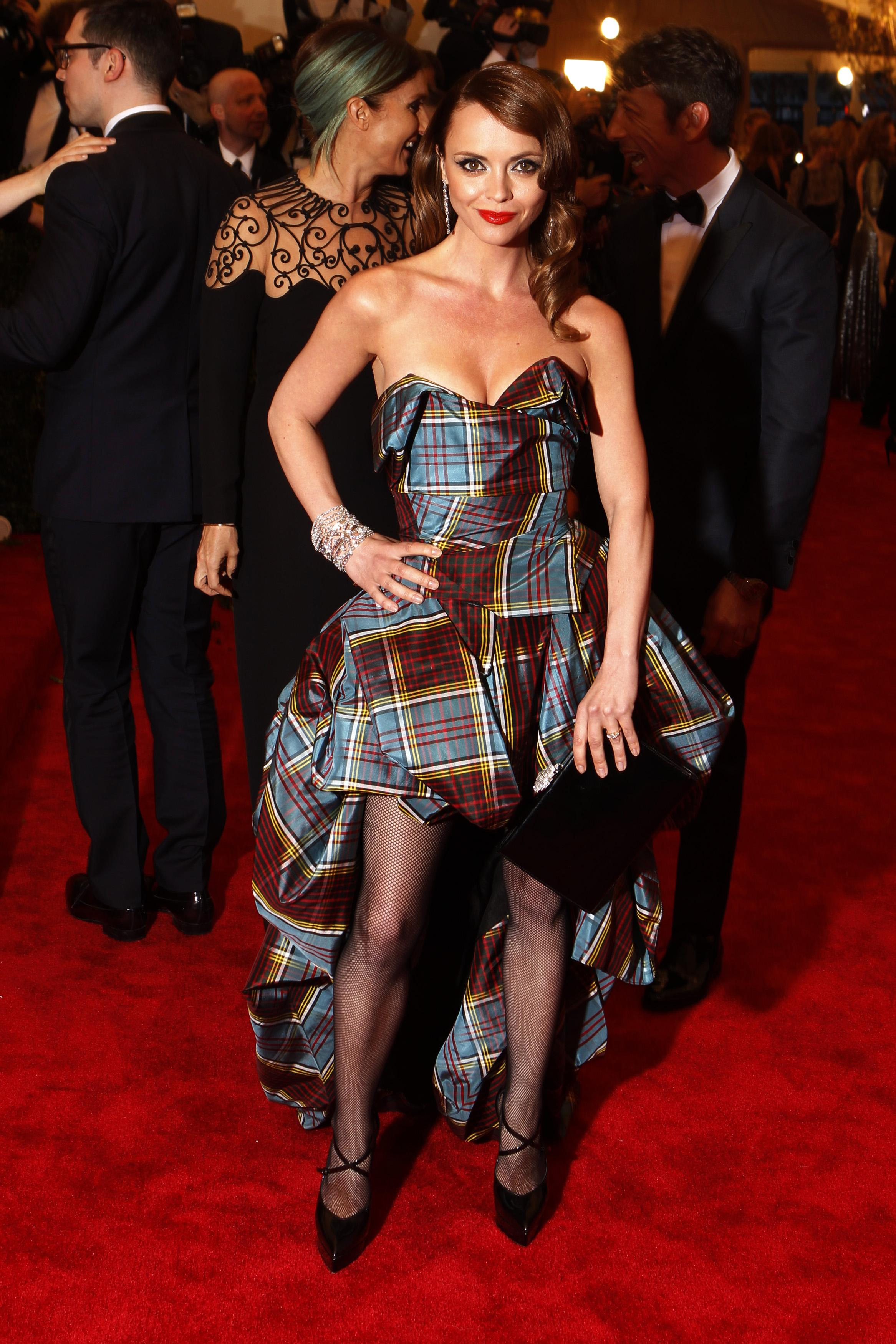 Christina Ricci at the 2013 Met Gala