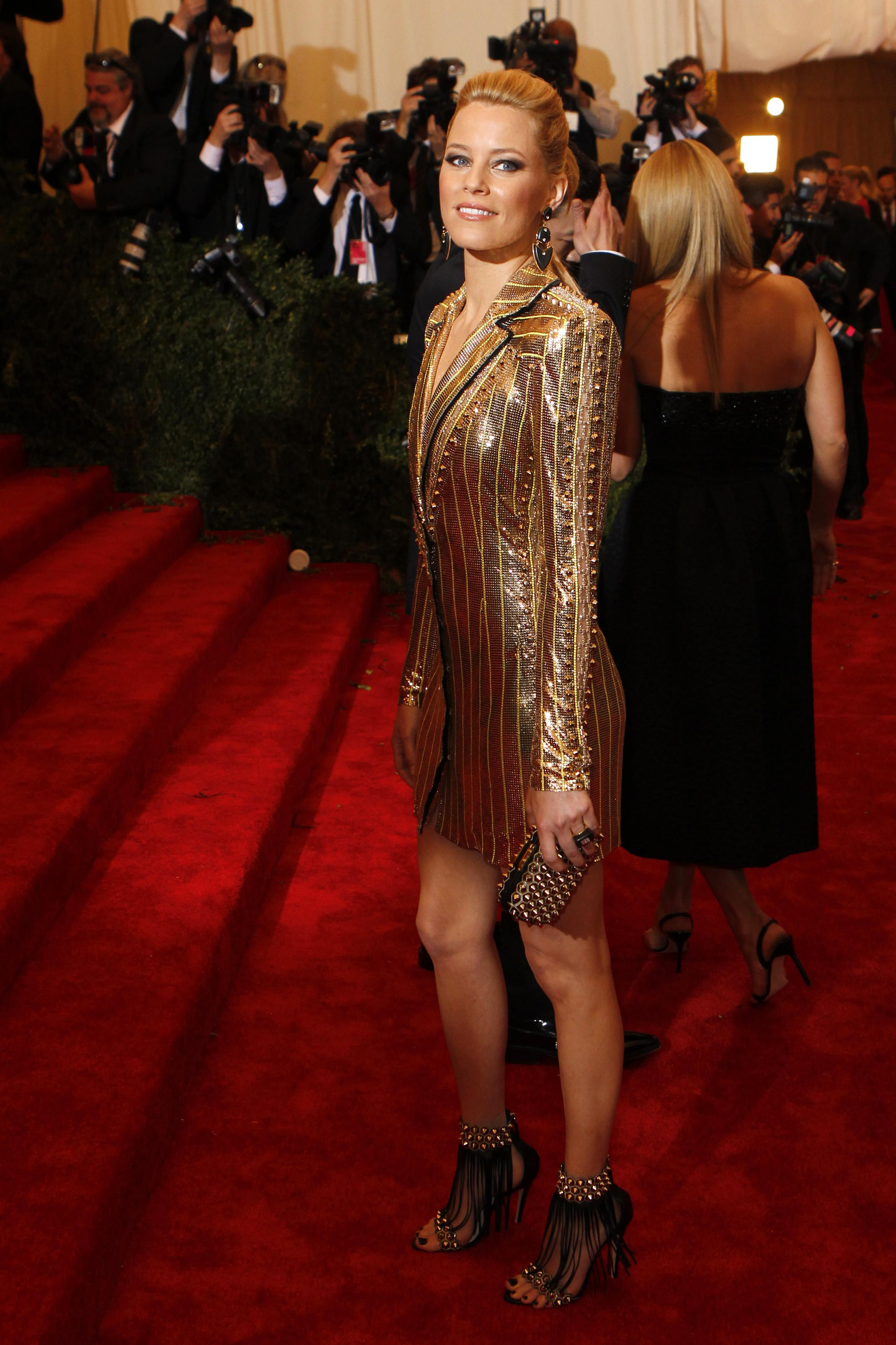 Elizabeth Banks at the 2013 Met Gala