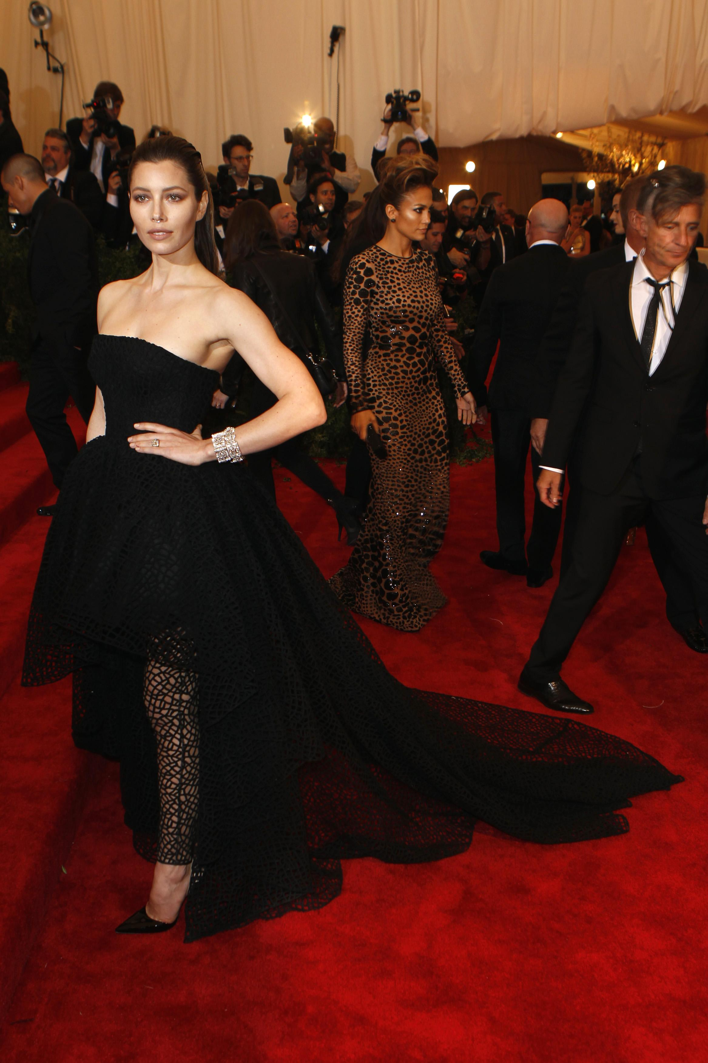 Jessica Biel at the 2013 Met Gala