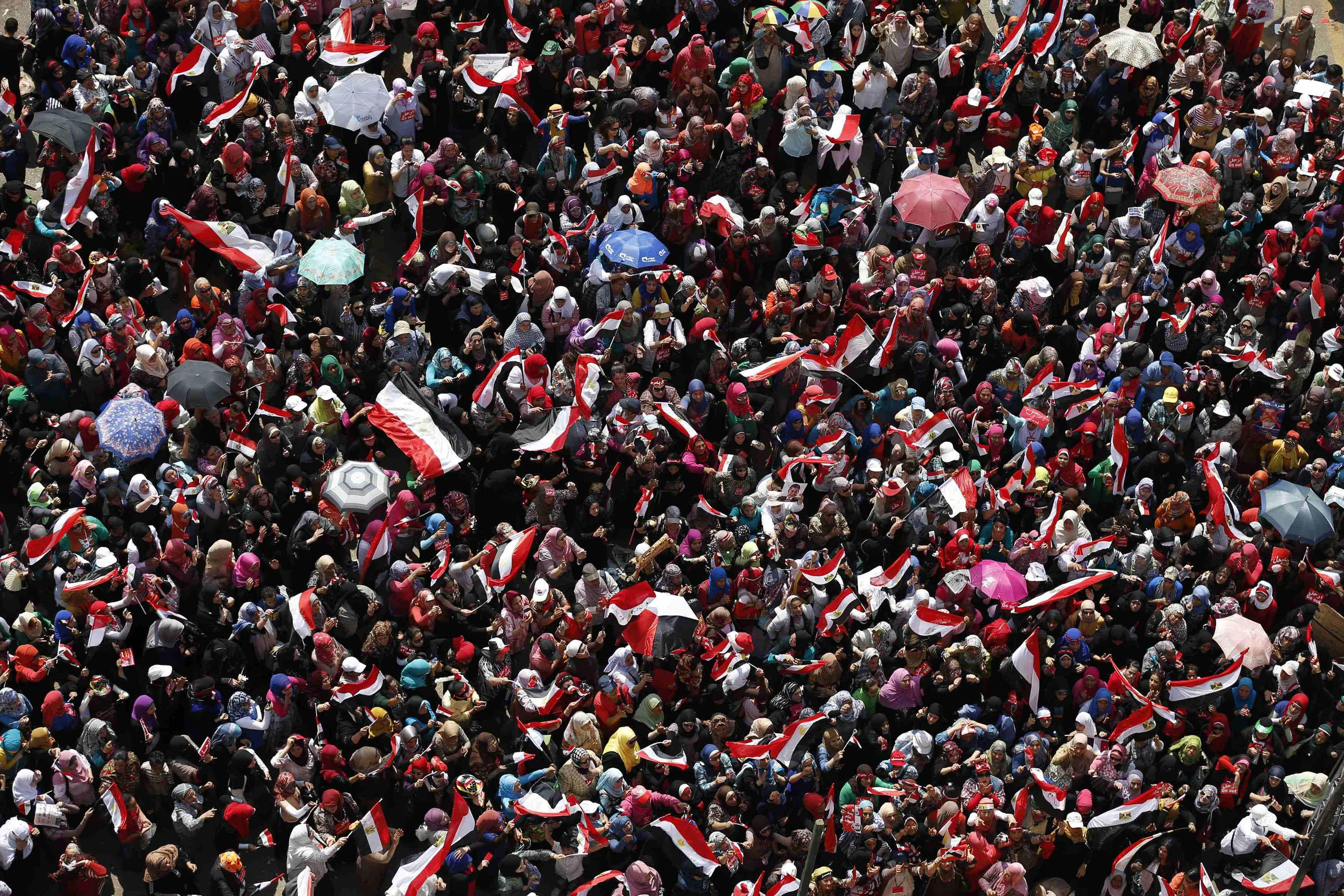 Egypt Crowds