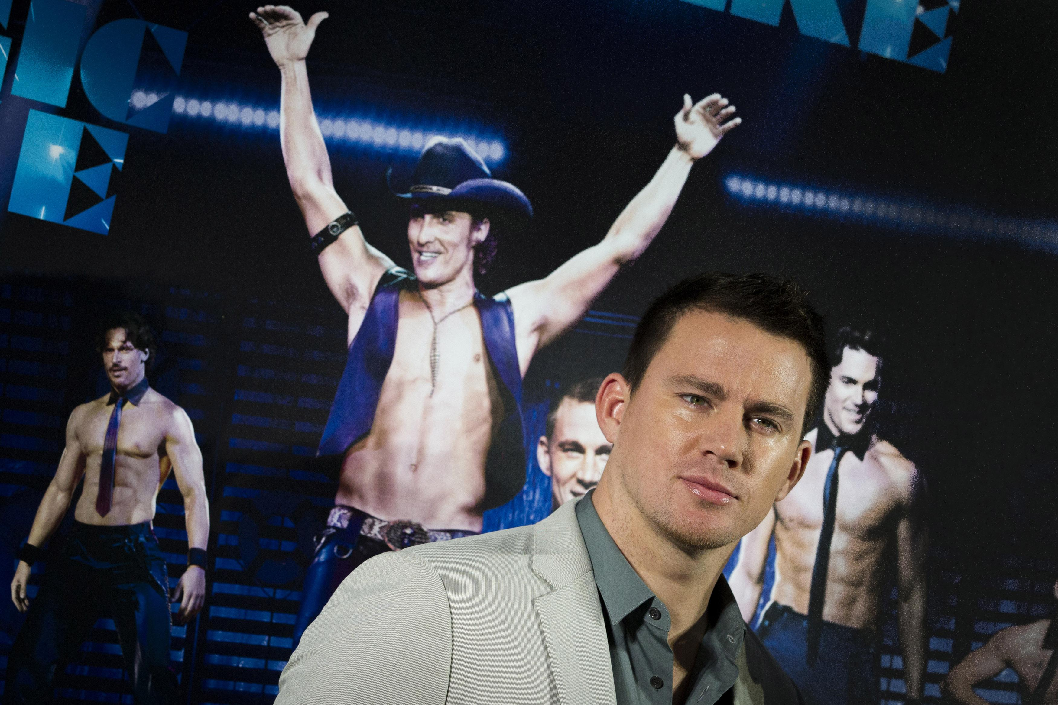 "Channing Tatum of ""Magic Mike"