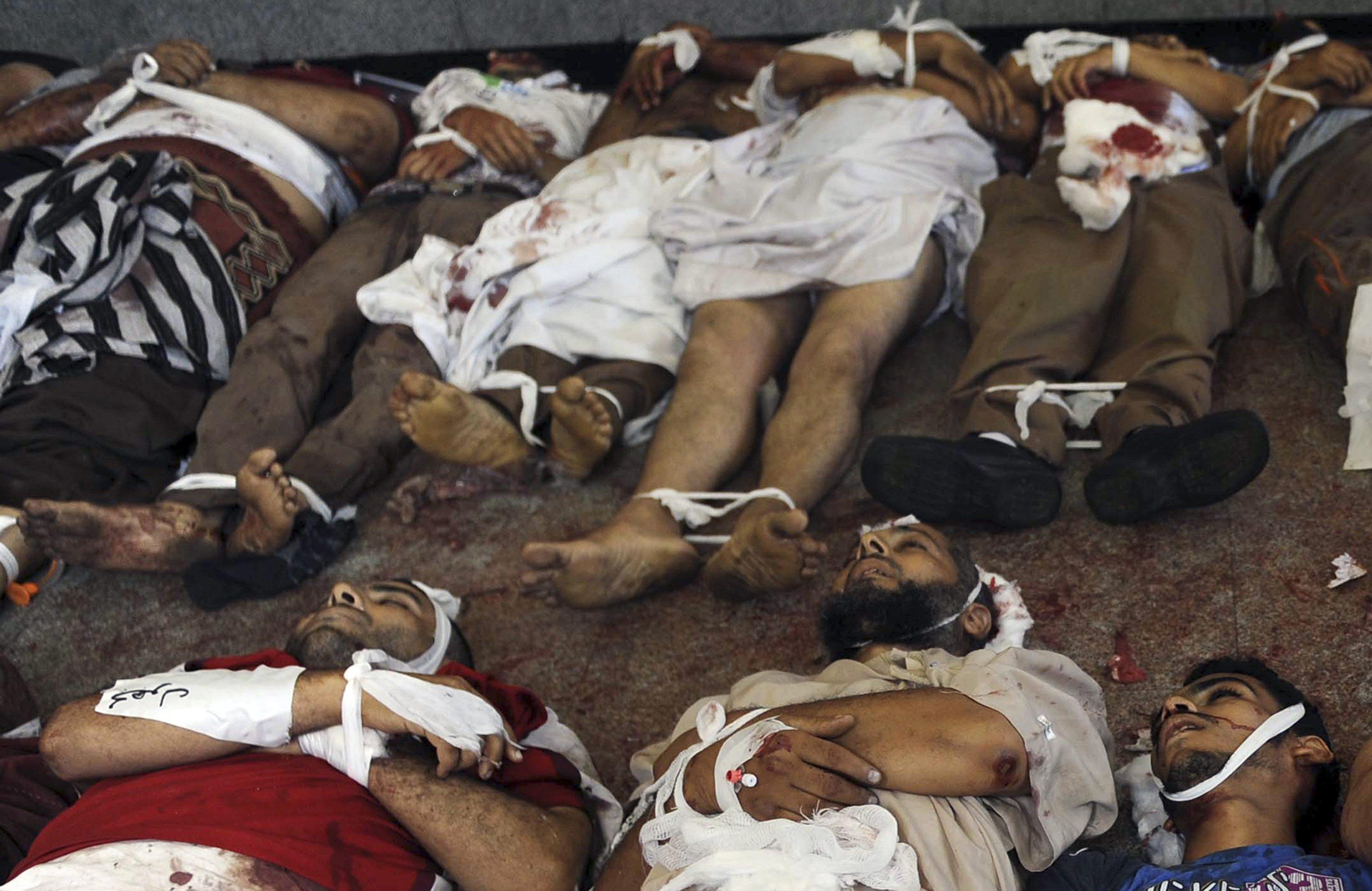 egypt dead bodies muslim brotherhood