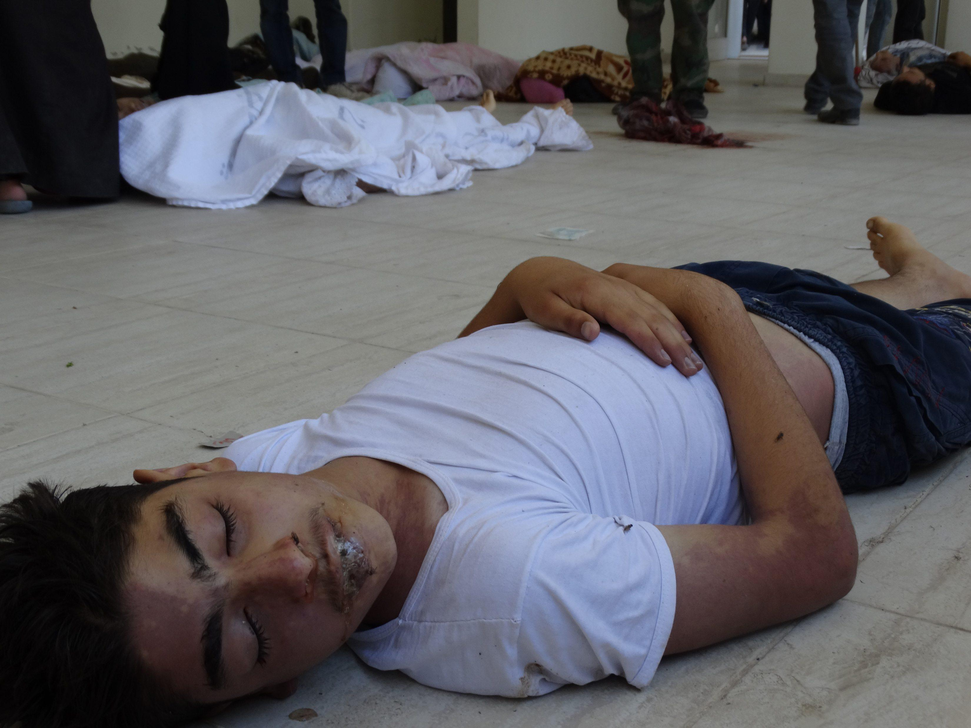 Syria child casualty