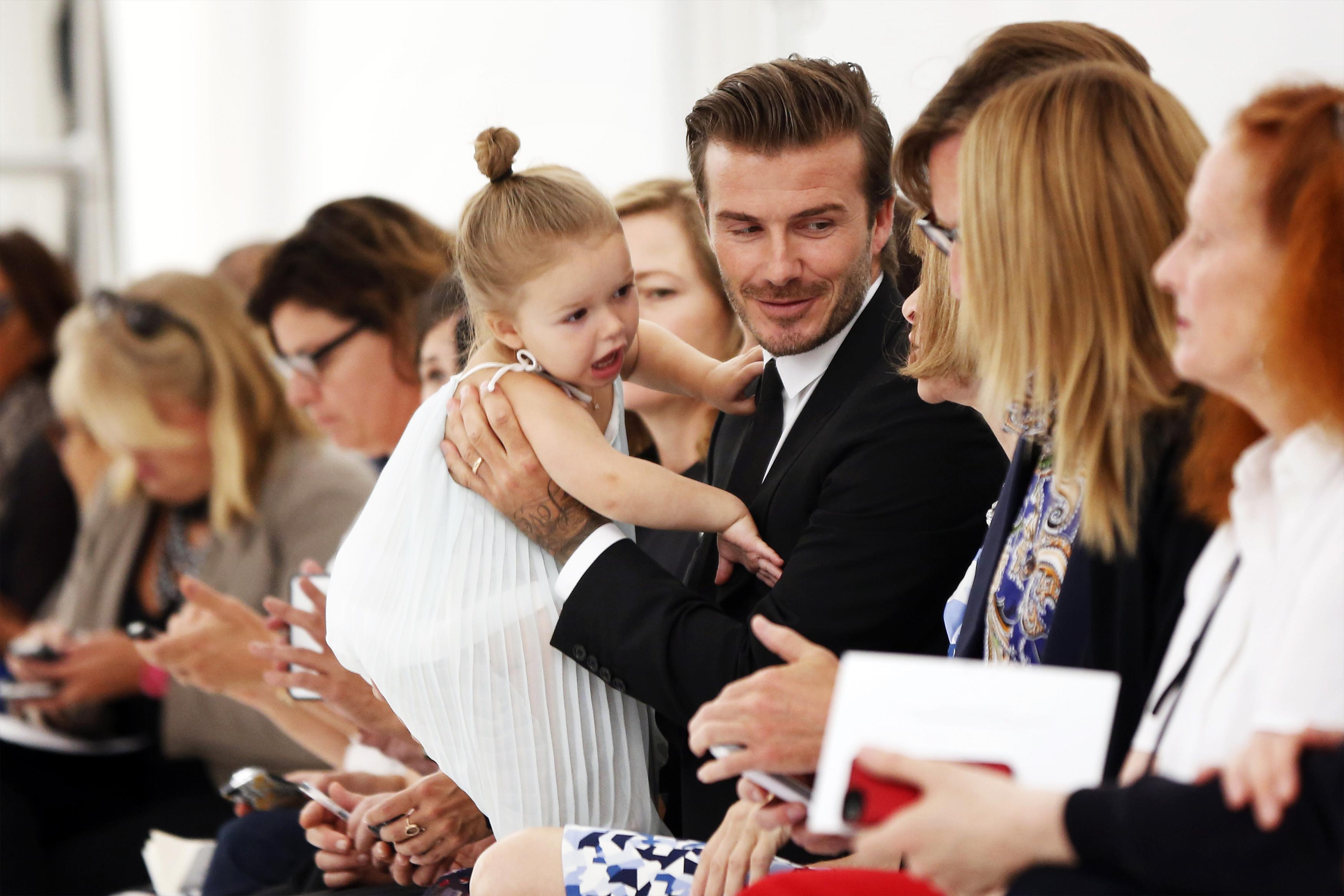 [08:42] Harper Beckham at New York Fashion Week