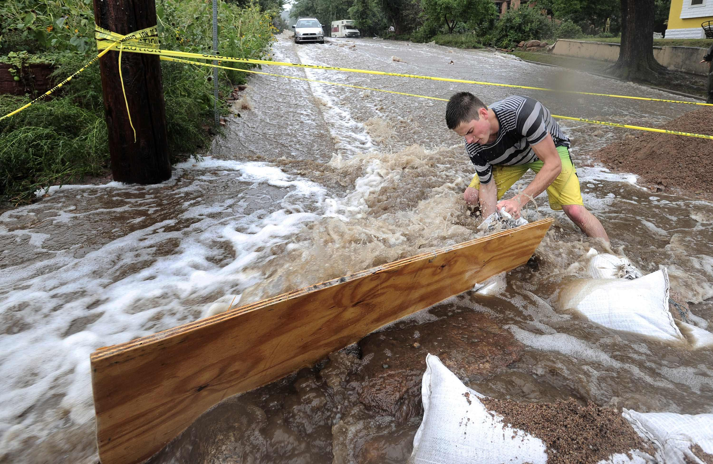 Boulder Flood Stemming