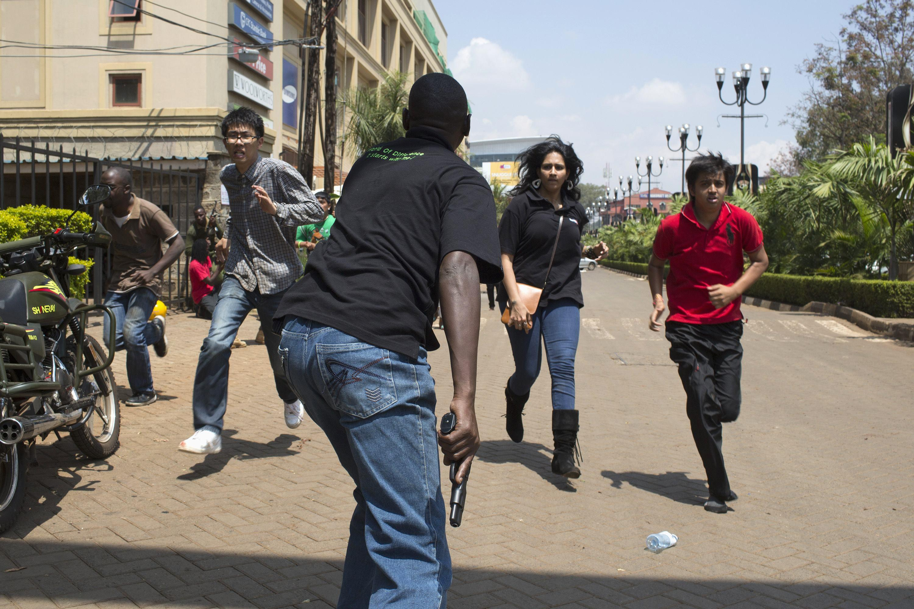 Nairobi Mall Shooting Evac