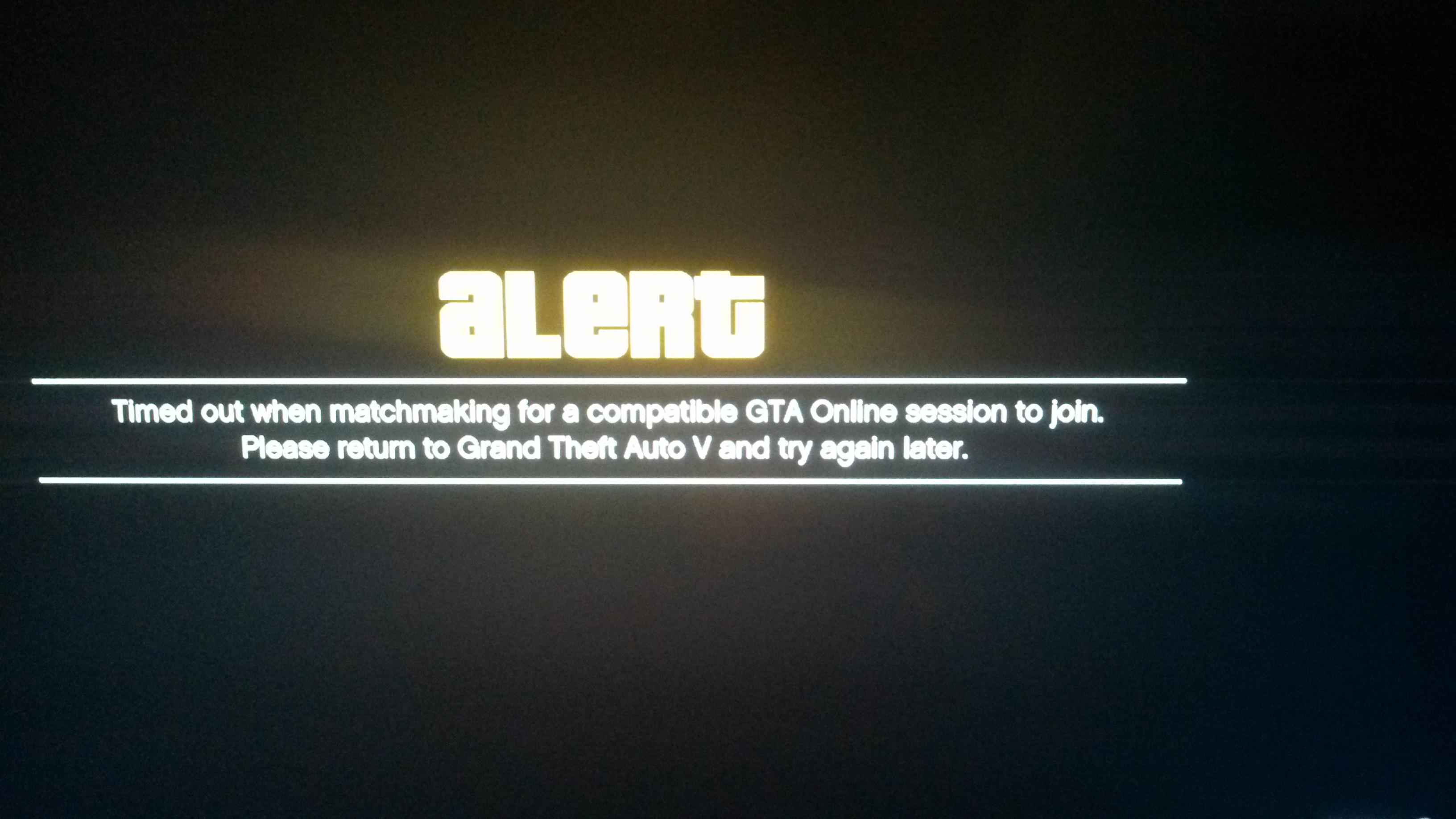 Grand Theft Auto v matchmaking