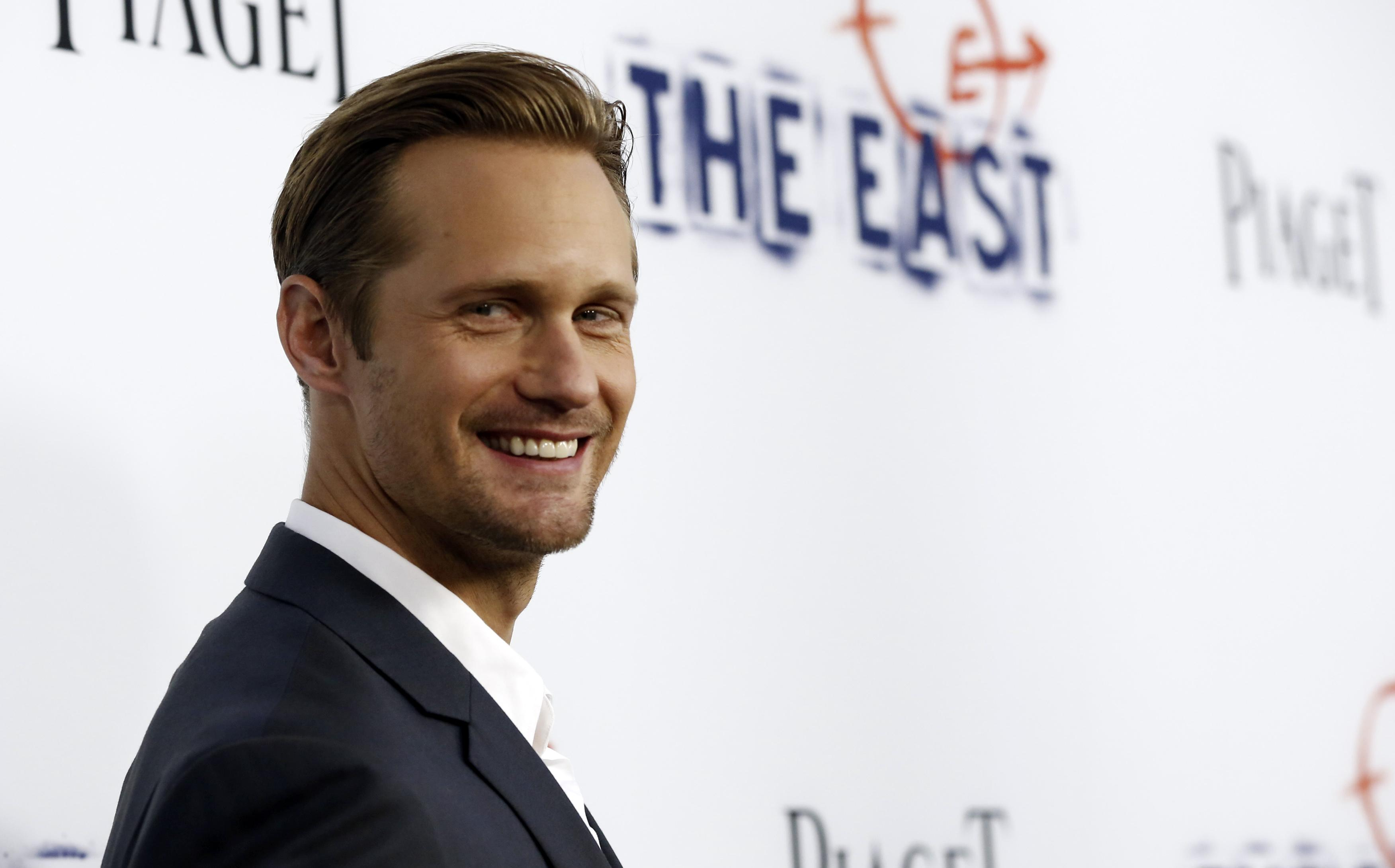 Alexander Skarsgard as Christian Grey?