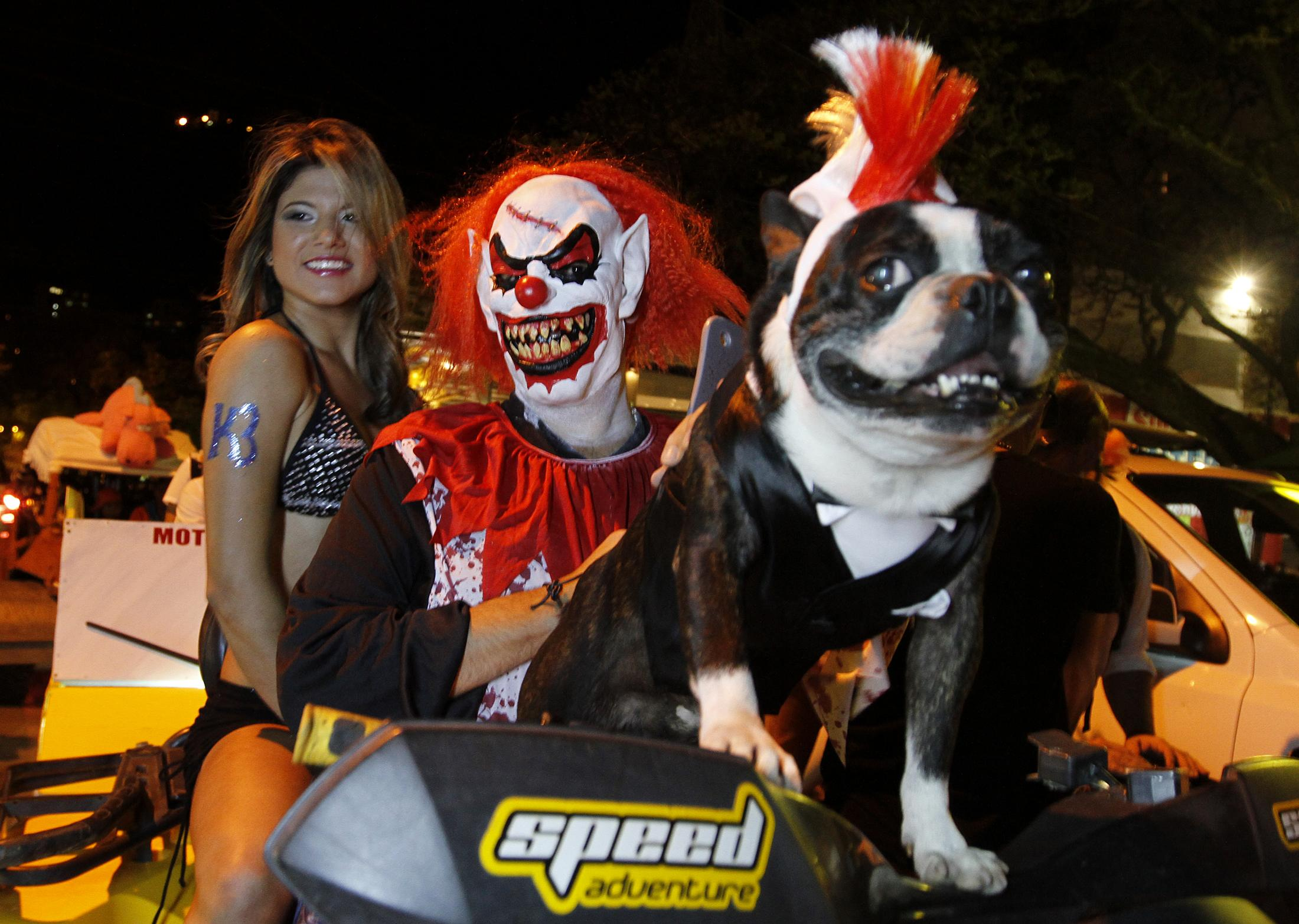 halloween costumes in cali columbia on october 31 2013 photo reuters