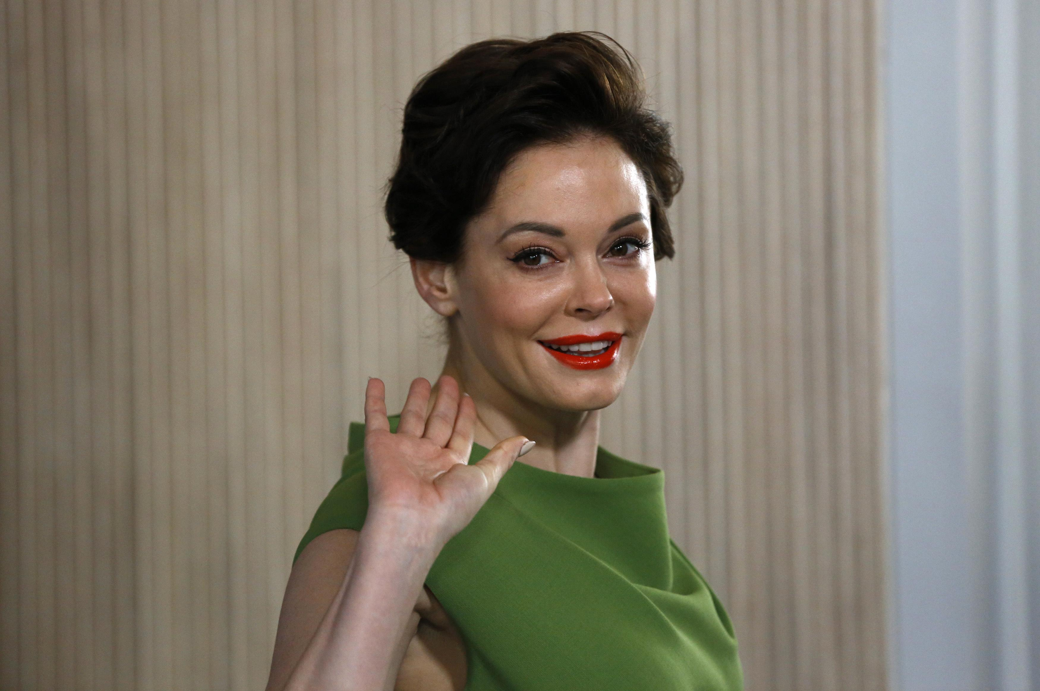 Rose McGowan as Mrs. Robinson?