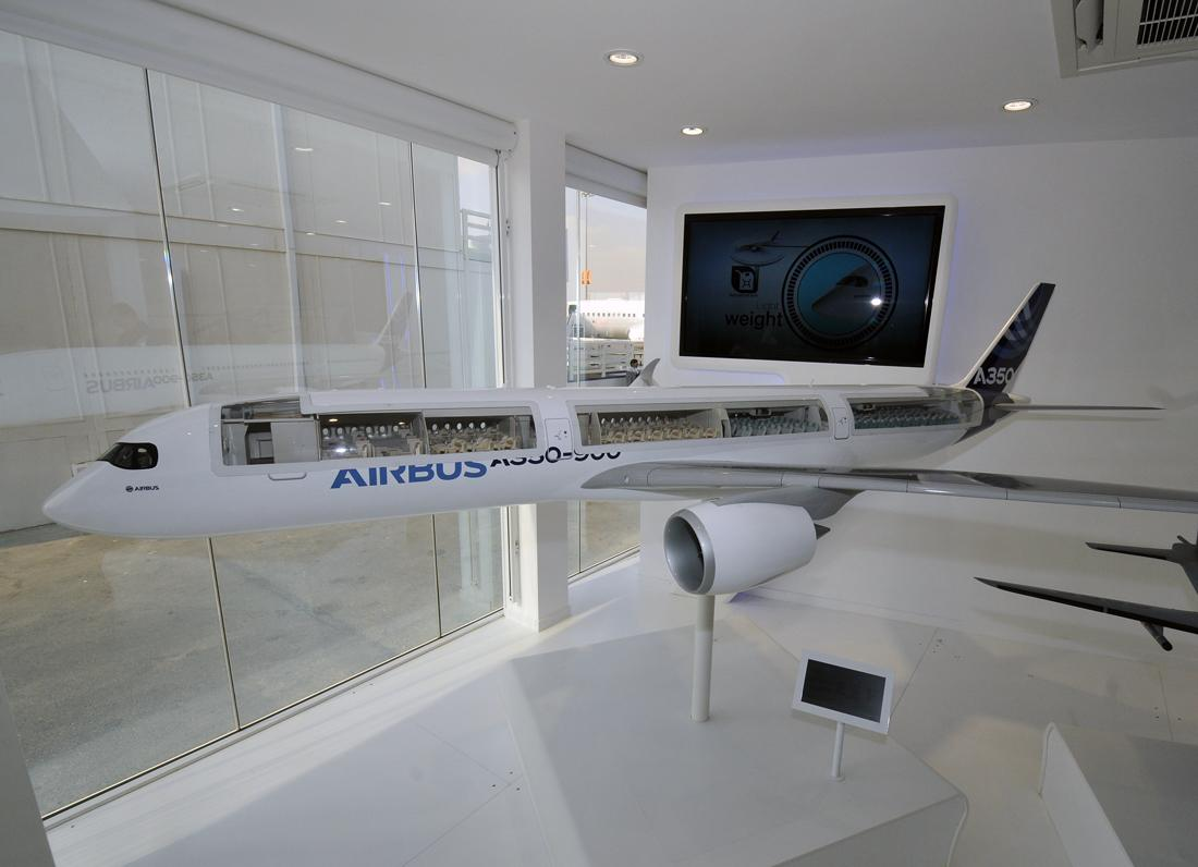 Airbus A350 model